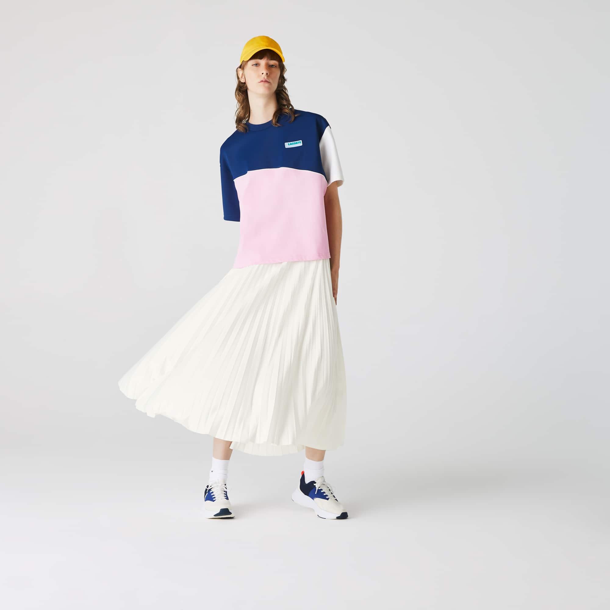 라코스테 로고 밴드 플리츠 스커트 - 4 컬러 (김나영 착용) Lacoste Womens Branded Elasticised Pleated Skirt