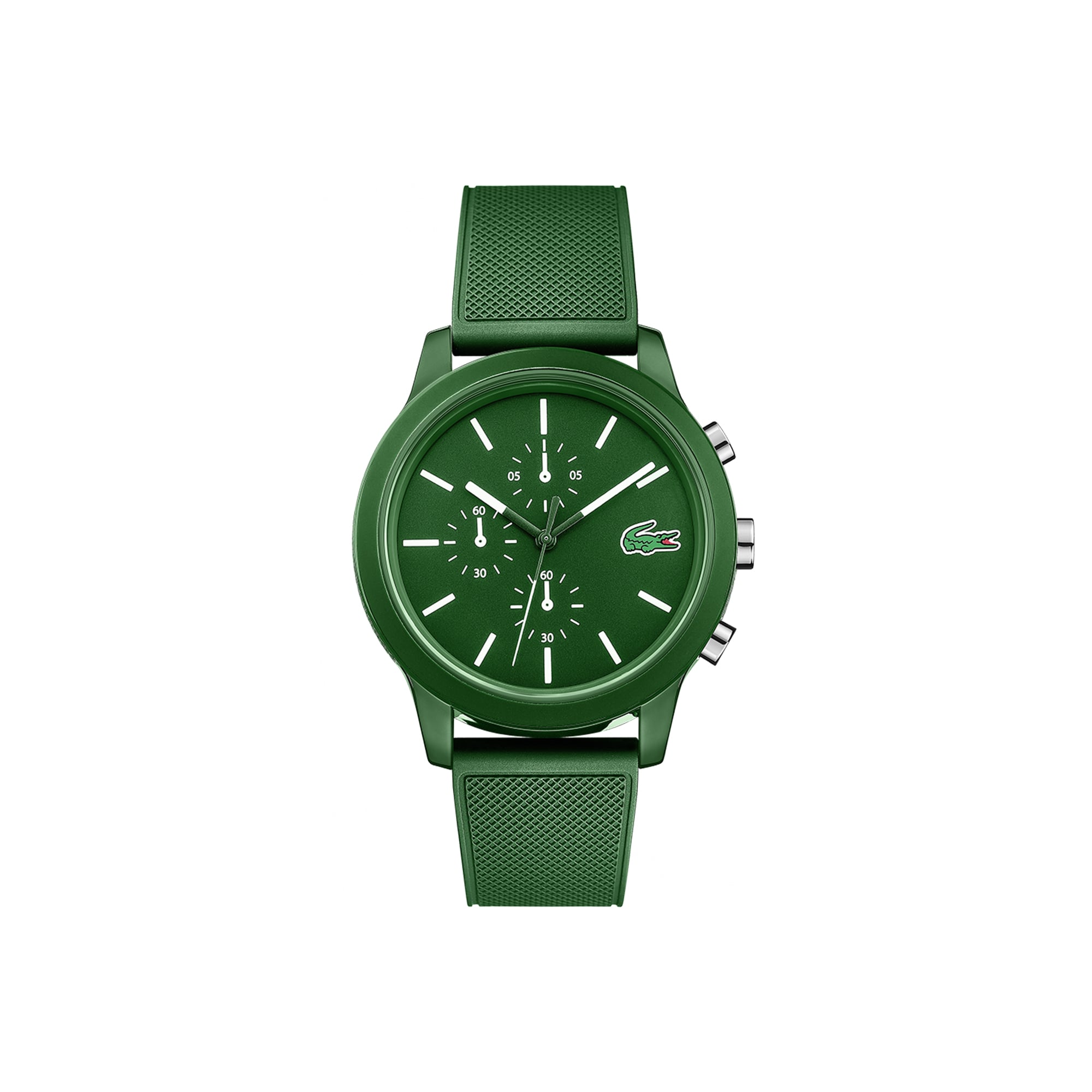 82a299737 Men's Lacoste 12.12 Watch with Red Silicone Strap. $95.00. Sport Edition