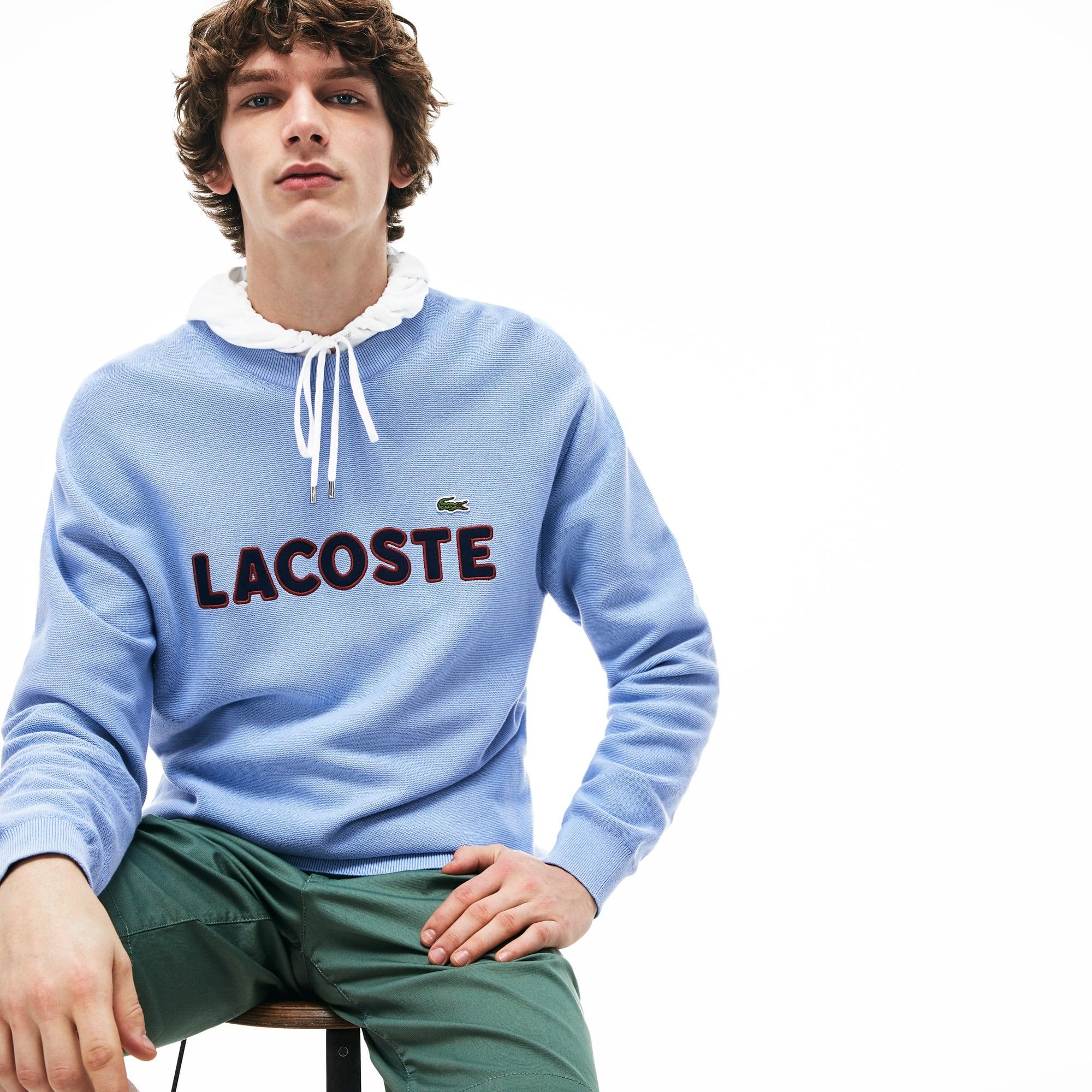 Men's Crew Neck Cotton Sweater