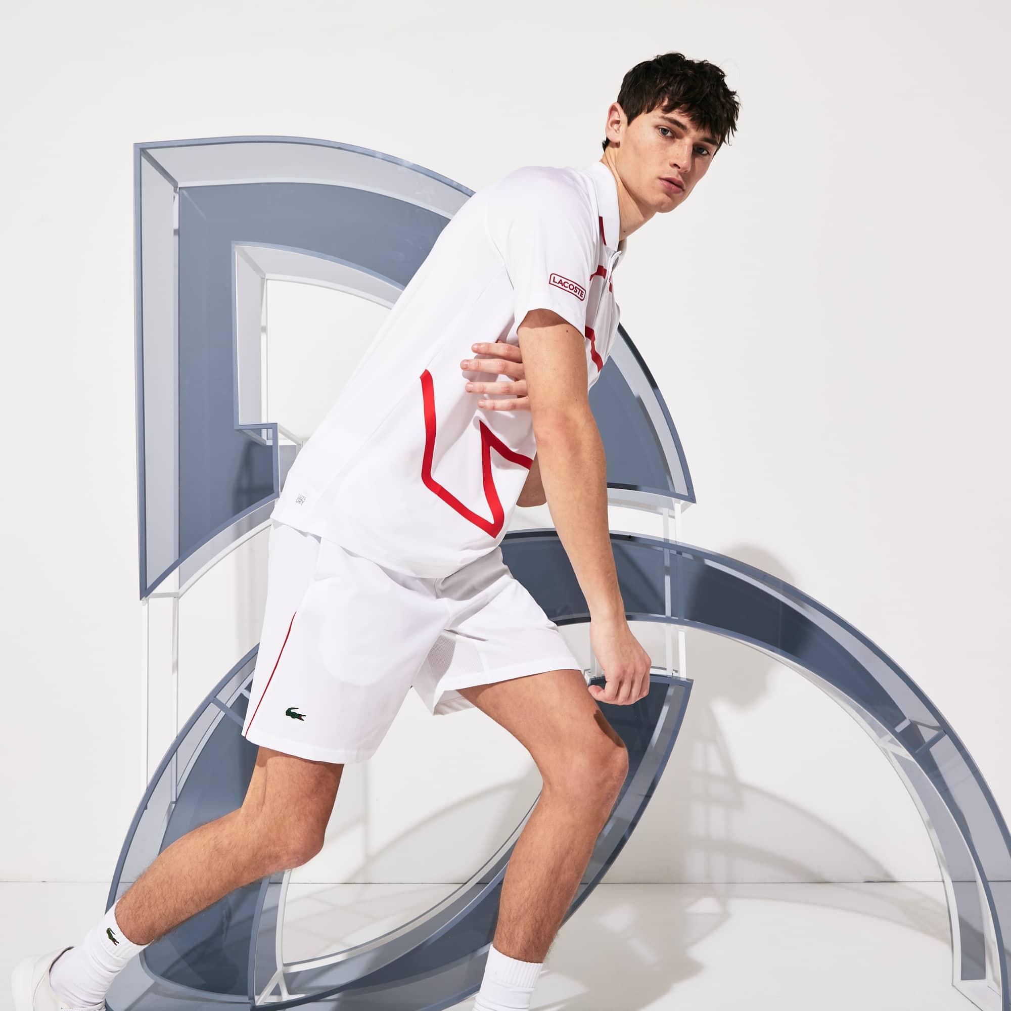라코스테 스포츠 롤랑가로스 노박 조코비치 반바지 Lacoste Mens SPORT Roland Garros x Novak Djokovic Shorts
