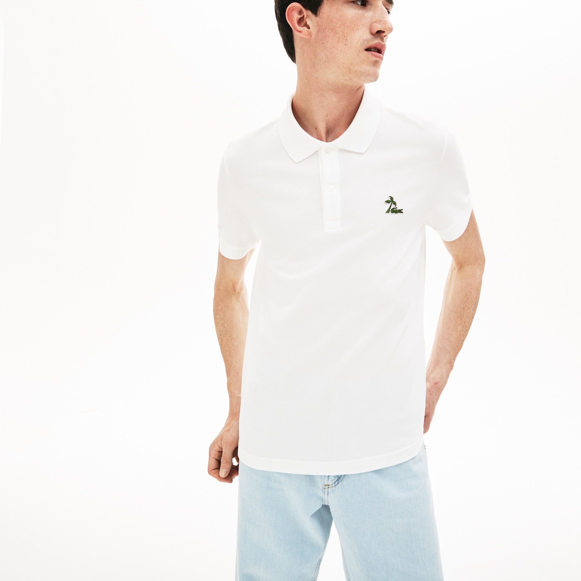 446e62d02ee70 Men's Regular Fit Cotton Petit Piqué Polo | LACOSTE