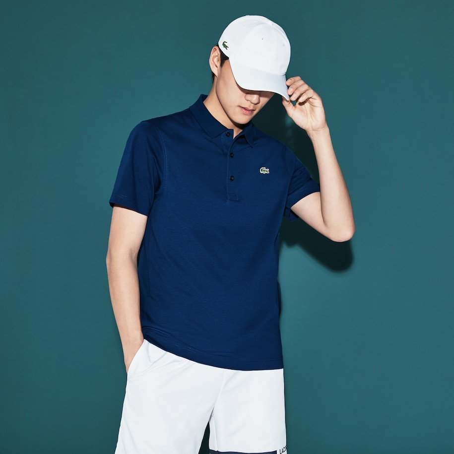 Men's SPORT Tennis Regular Fit Polo Shirt in ultra-lightweight knit