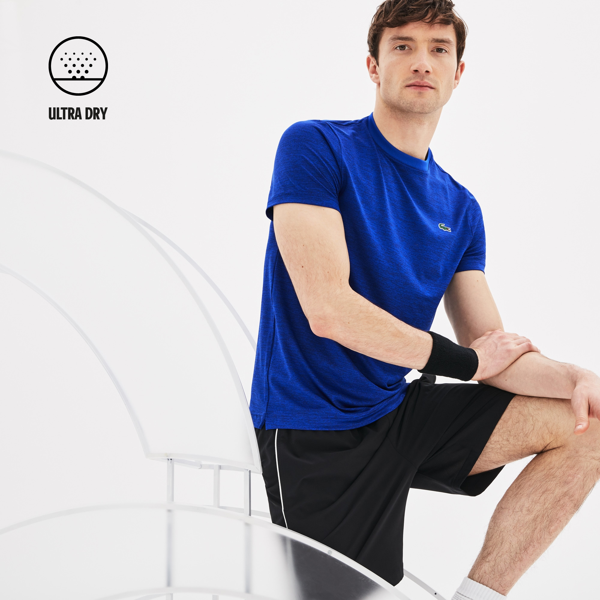 T-Shirt SPORT Collection Novak Djokovic en jersey chiné