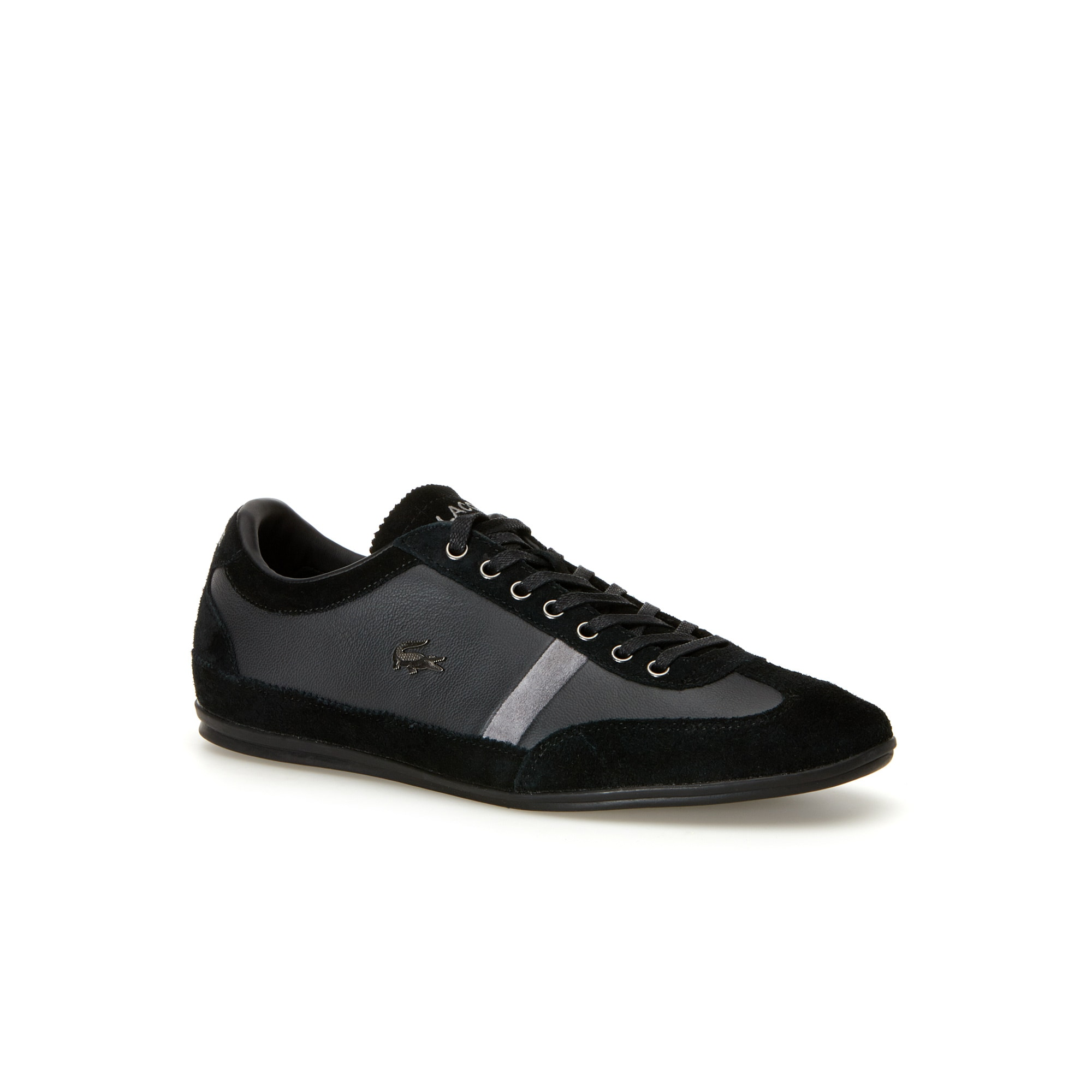 Men's Misano Low-Rise Leather and Suedette Sneakers