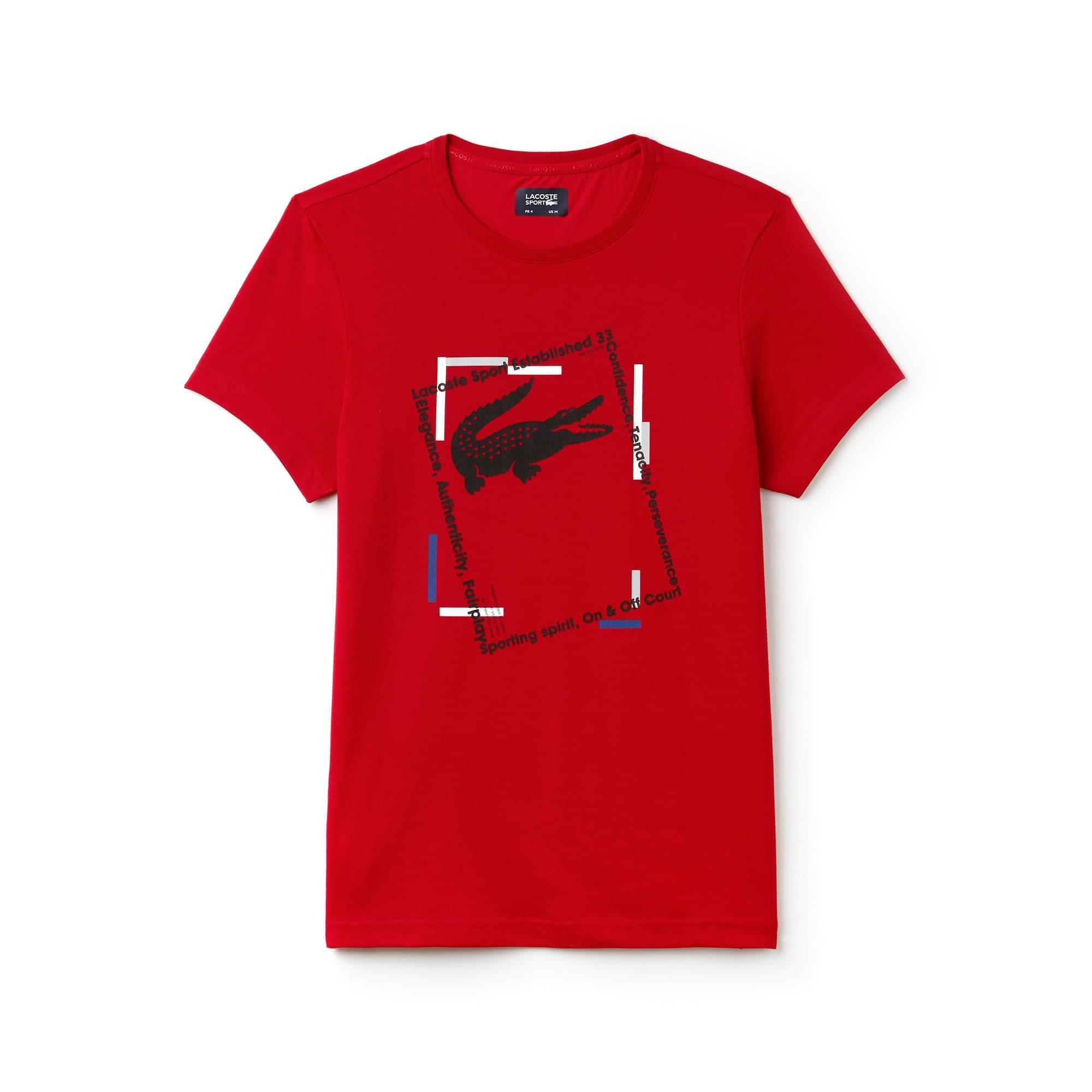 Men's SPORT Logo Tech Jersey Tennis T-shirt