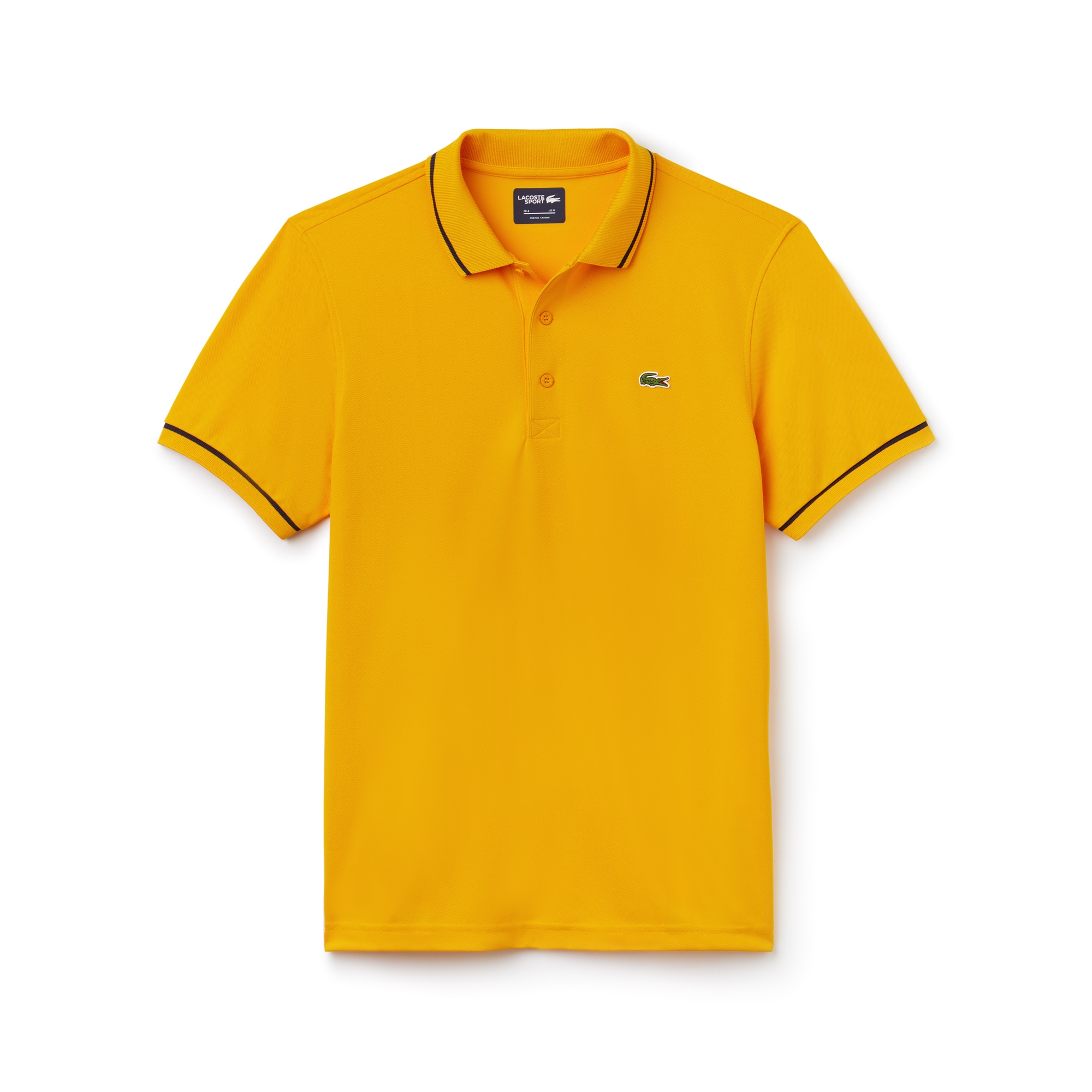 Men's  SPORT Tennis Piped Technical Piqué Polo Shirt