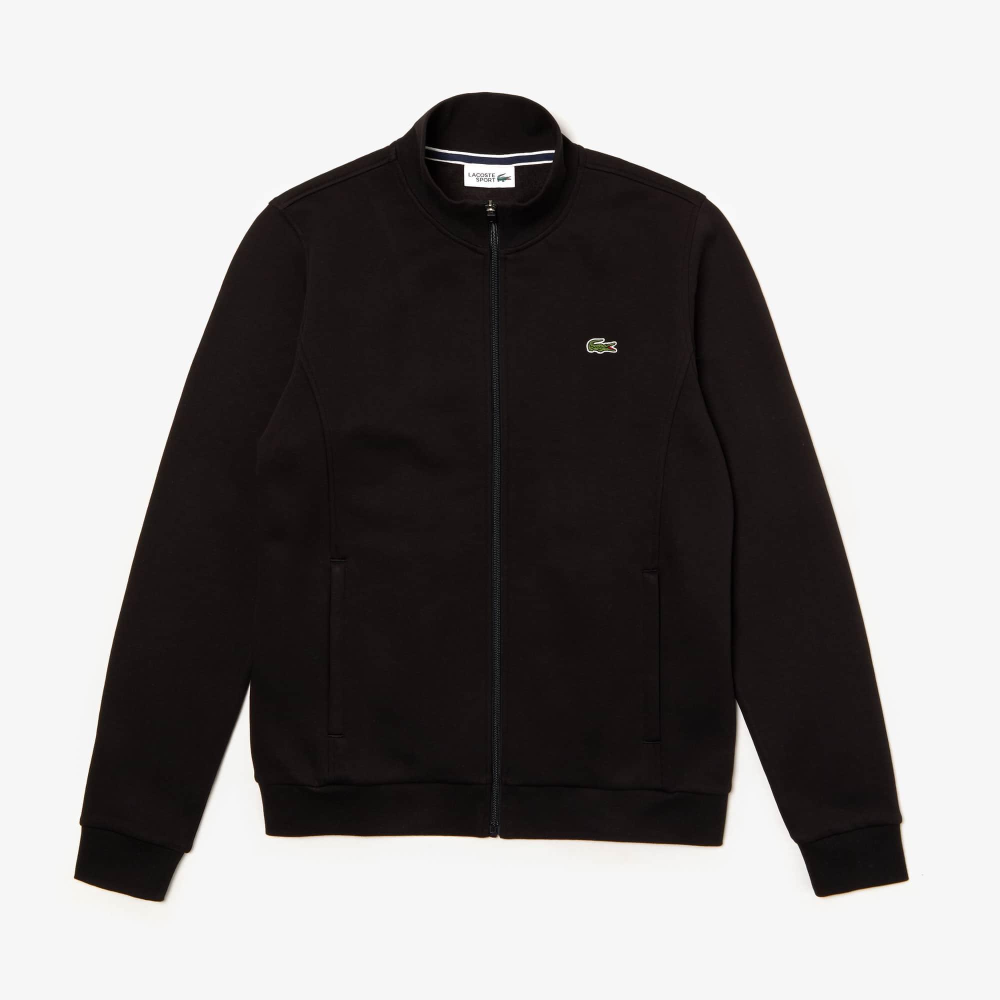 Men's  SPORT zip-up fleece sweatshirt