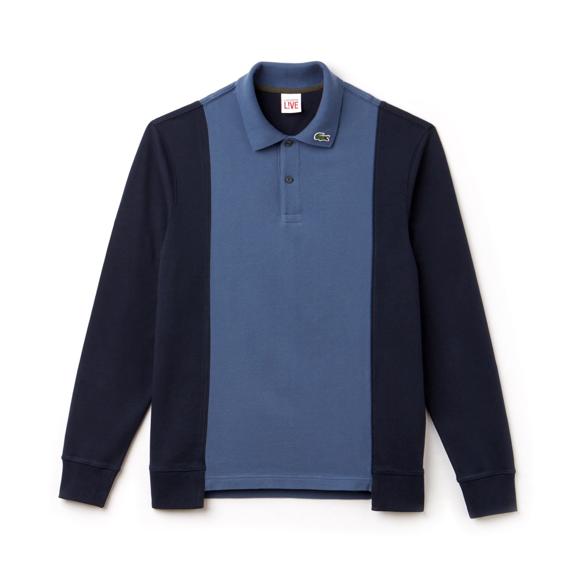 Men's LIVE Regular Fit Colorblock Piqué Polo