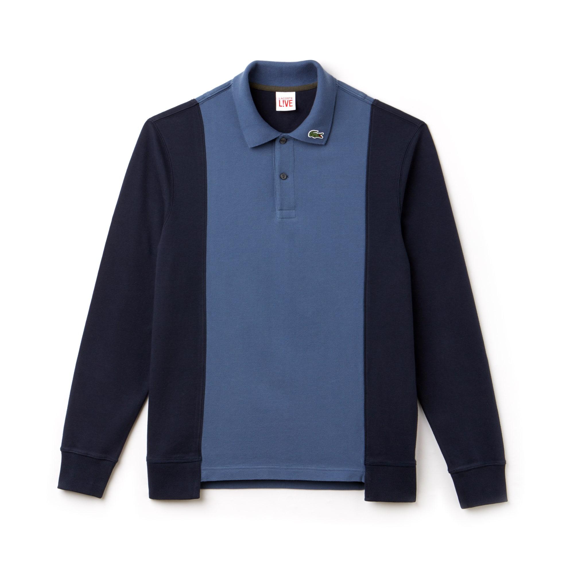 Men's LIVE Regular Fit Colorblock Piqué Polo