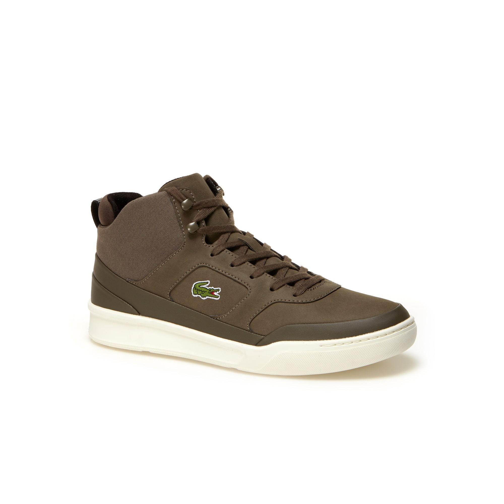 Men's Explorateur Sport Mid Leather Sneakers