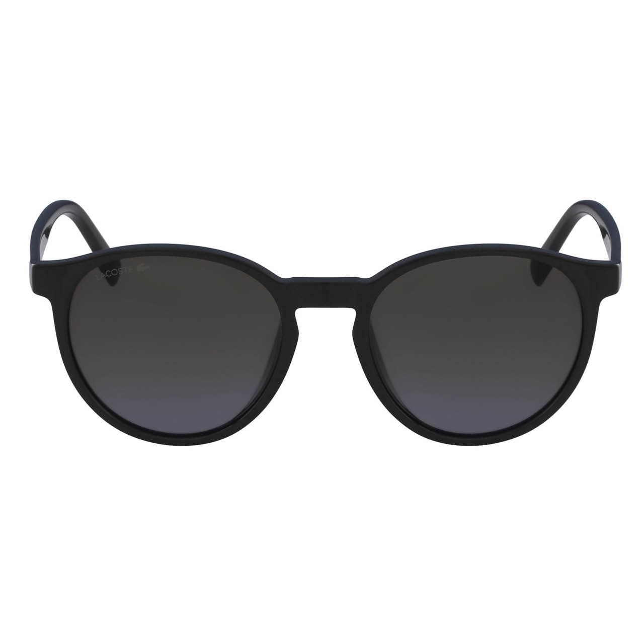 Unisex Plastic Round Color Block Sunglasses