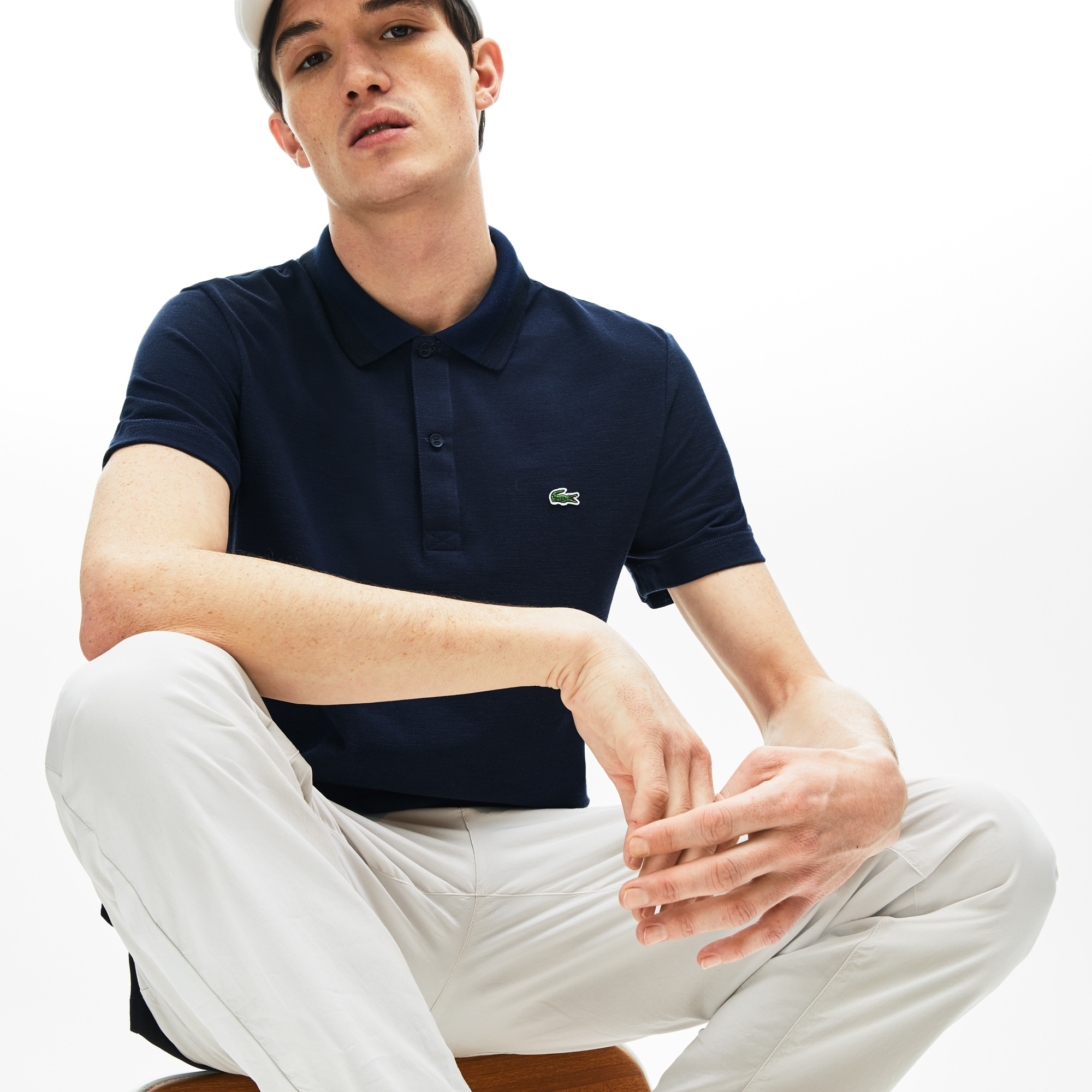 f18a80f3 + 1 color + 4 colors. 40% off. Men's Regular Fit Piqué Polo Shirt