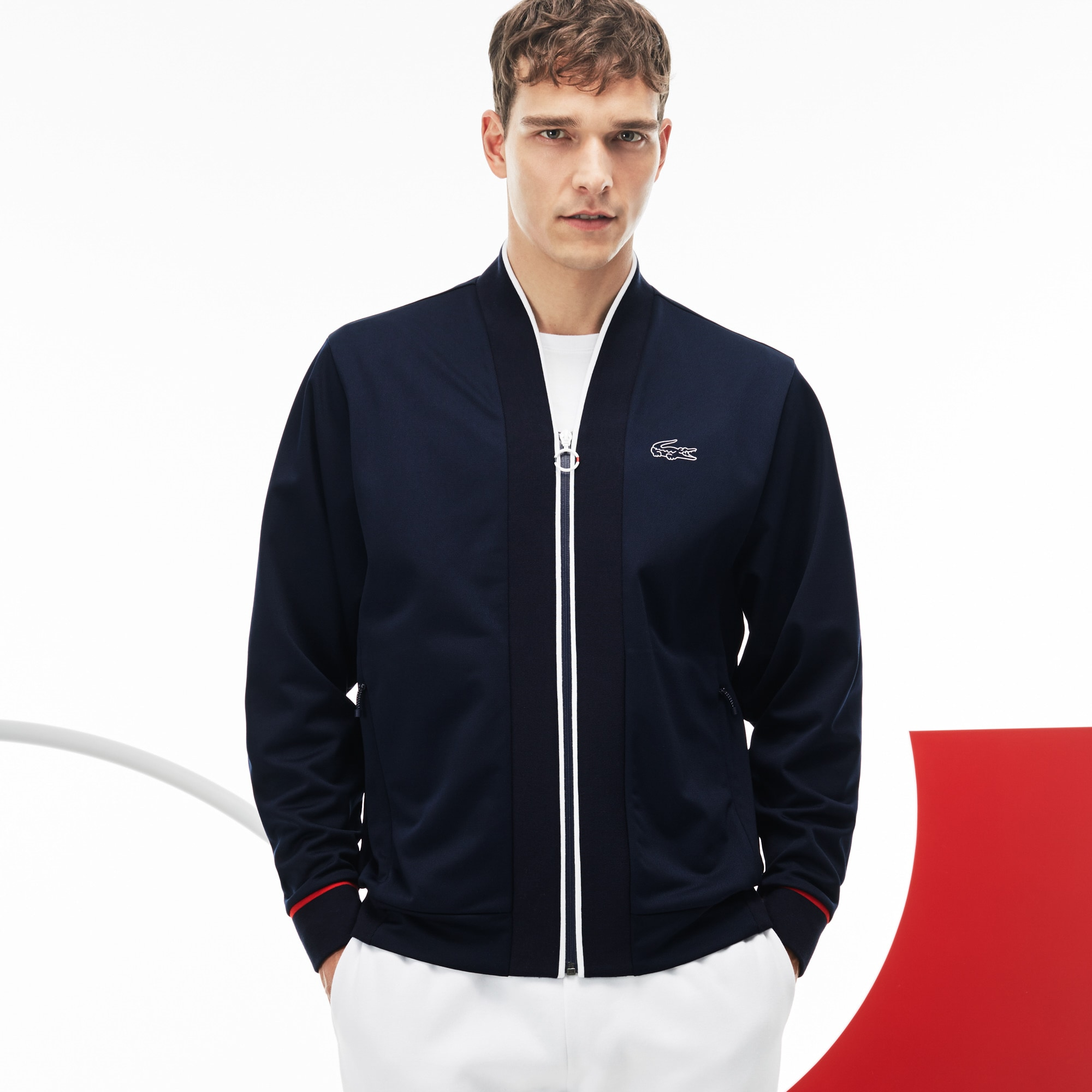 Men's  French Sporting Spirit Edition Tech Piqué Zip Sweatshirt