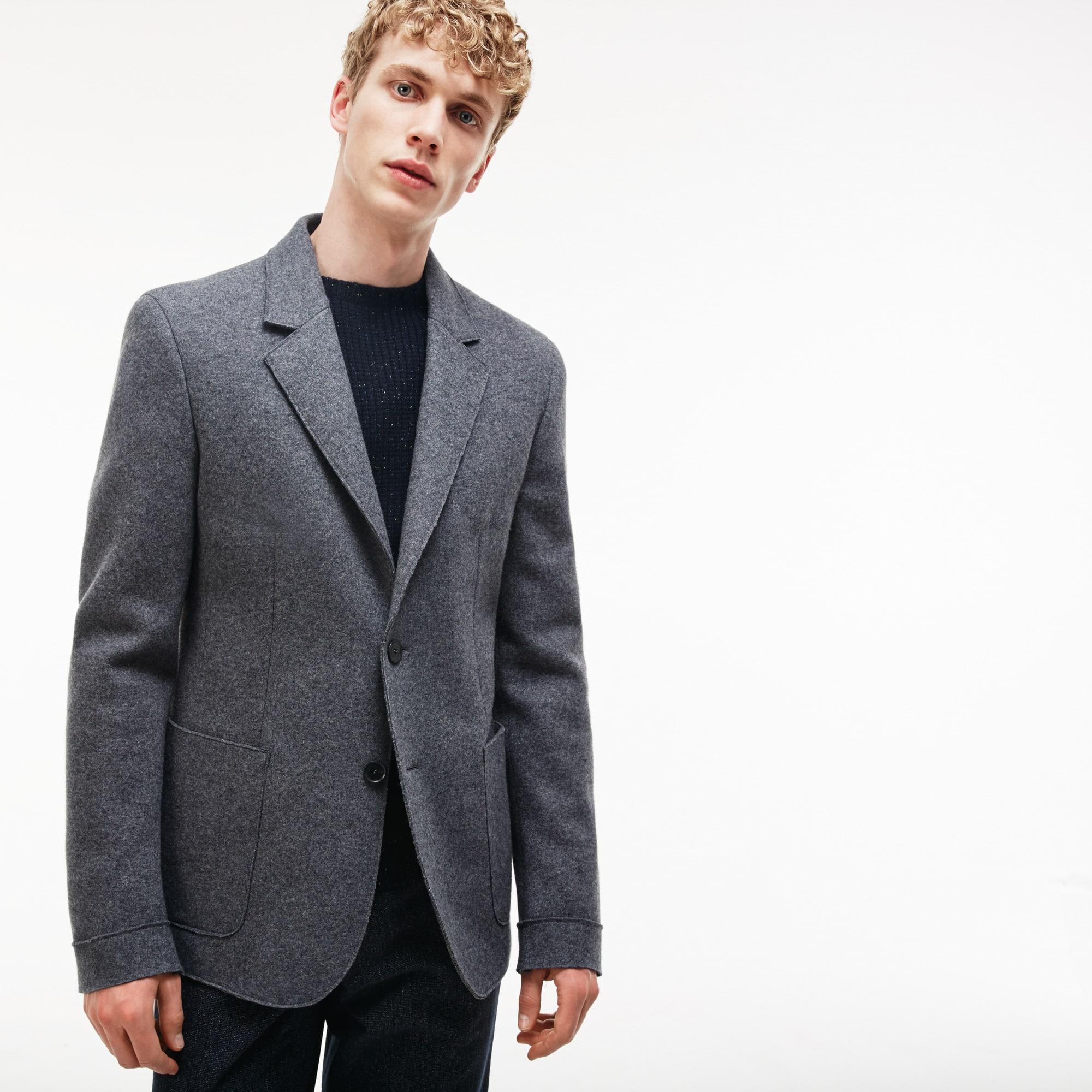 Men's Wool Broadcloth Suit Jacket