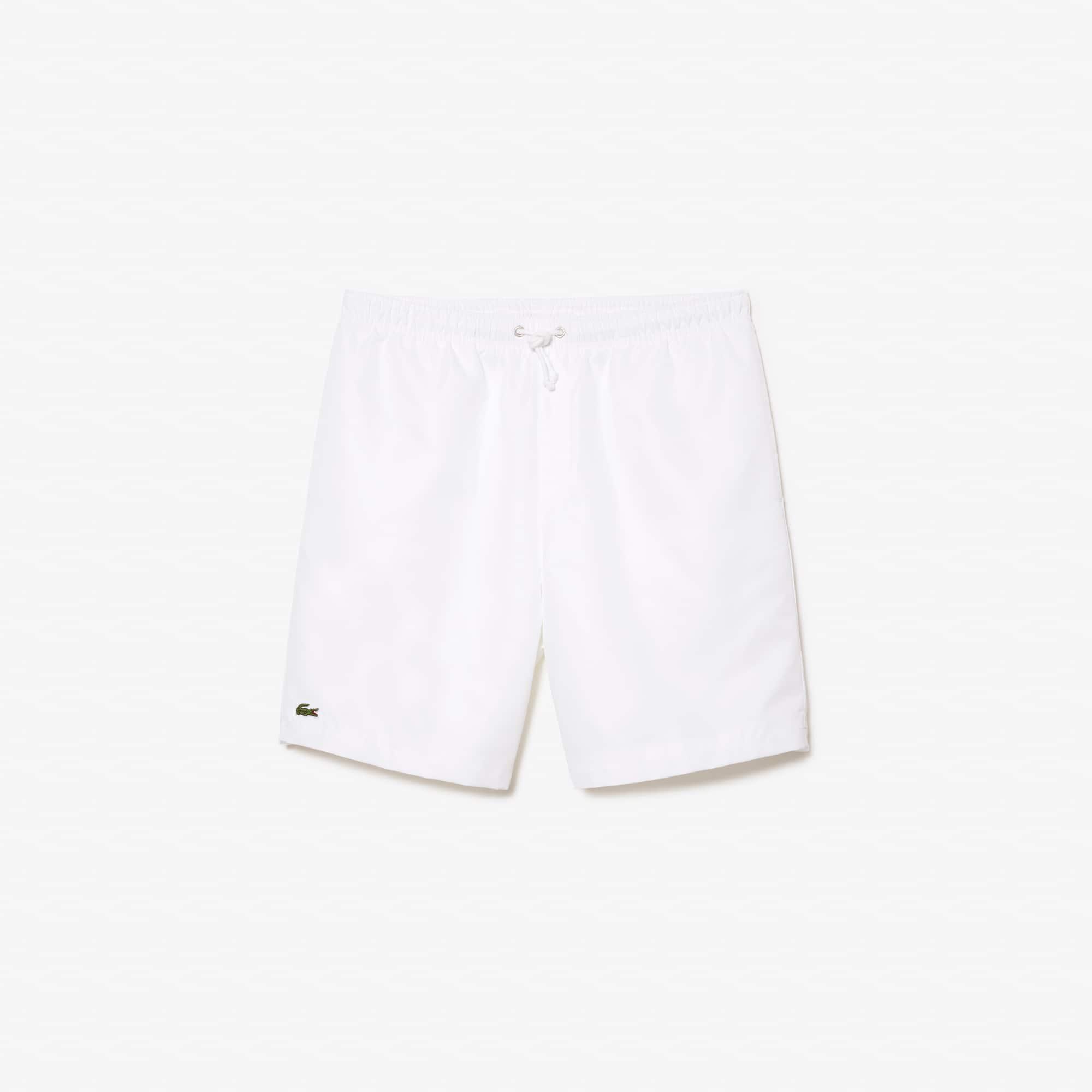 라코스테 Lacoste Mens SPORT Tennis Shorts,white