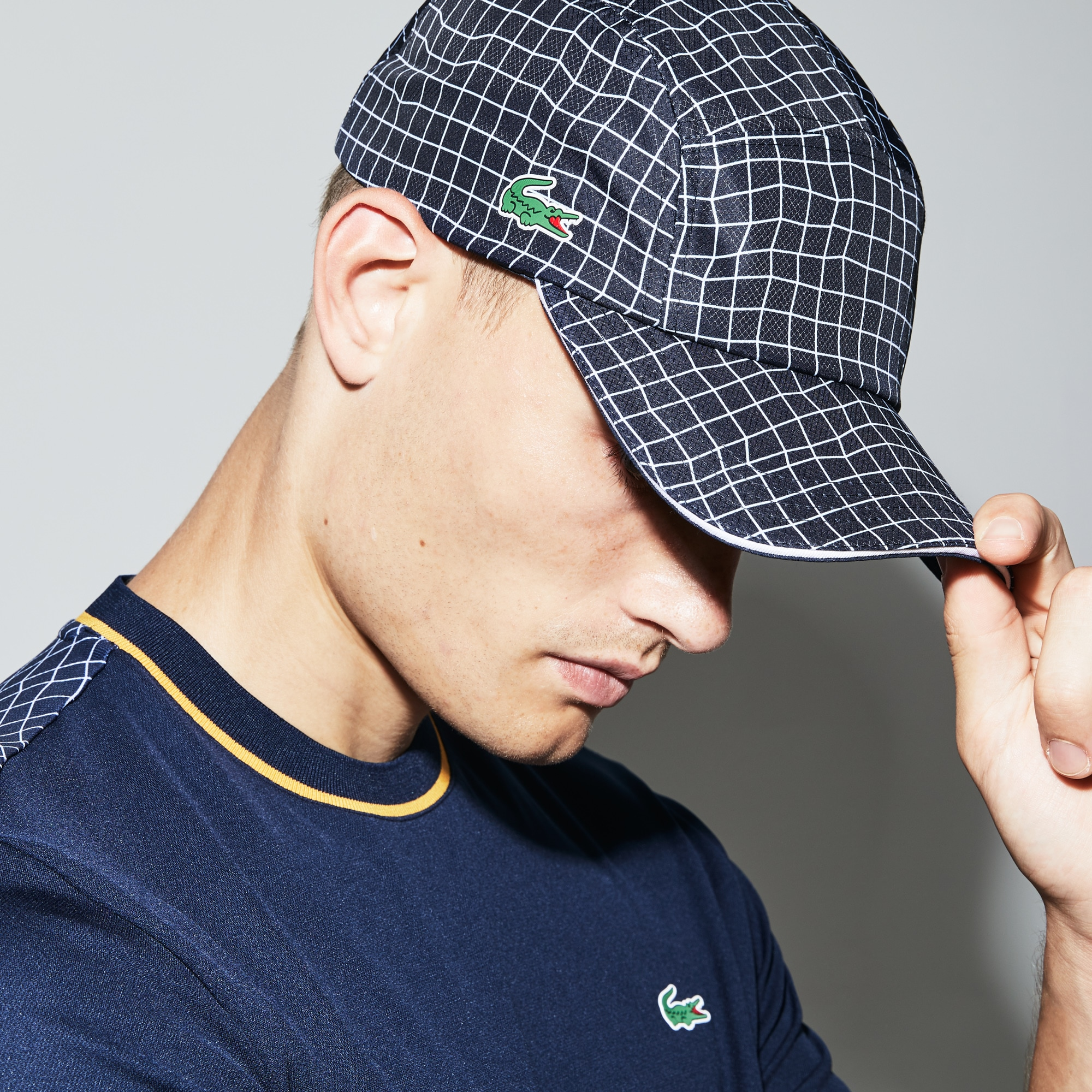 f941b1edee8f spain lacoste hunting cap yellow c591c 50ac9