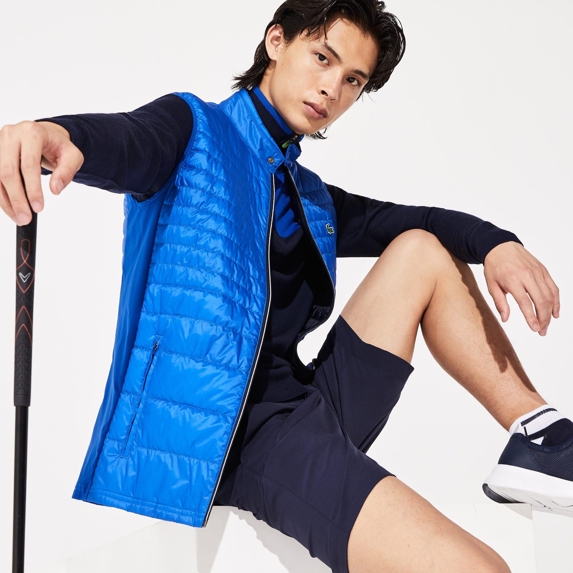 Lacoste Tops Men's SPORT Lightweight Water-Resistant Quilted Vest