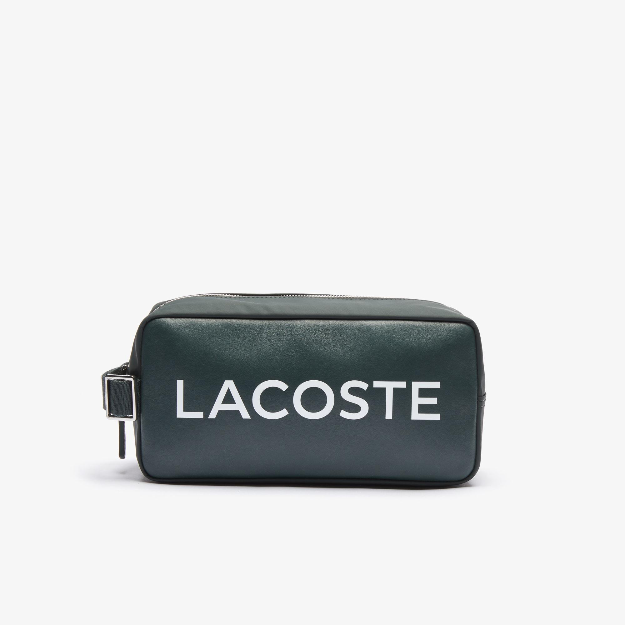 라코스테 '랩 미 업 컬렉션' L.12.12 파우치 Lacoste Mens L.12.12 Branded Zip Toiletry Bag,SINOPLE • B43