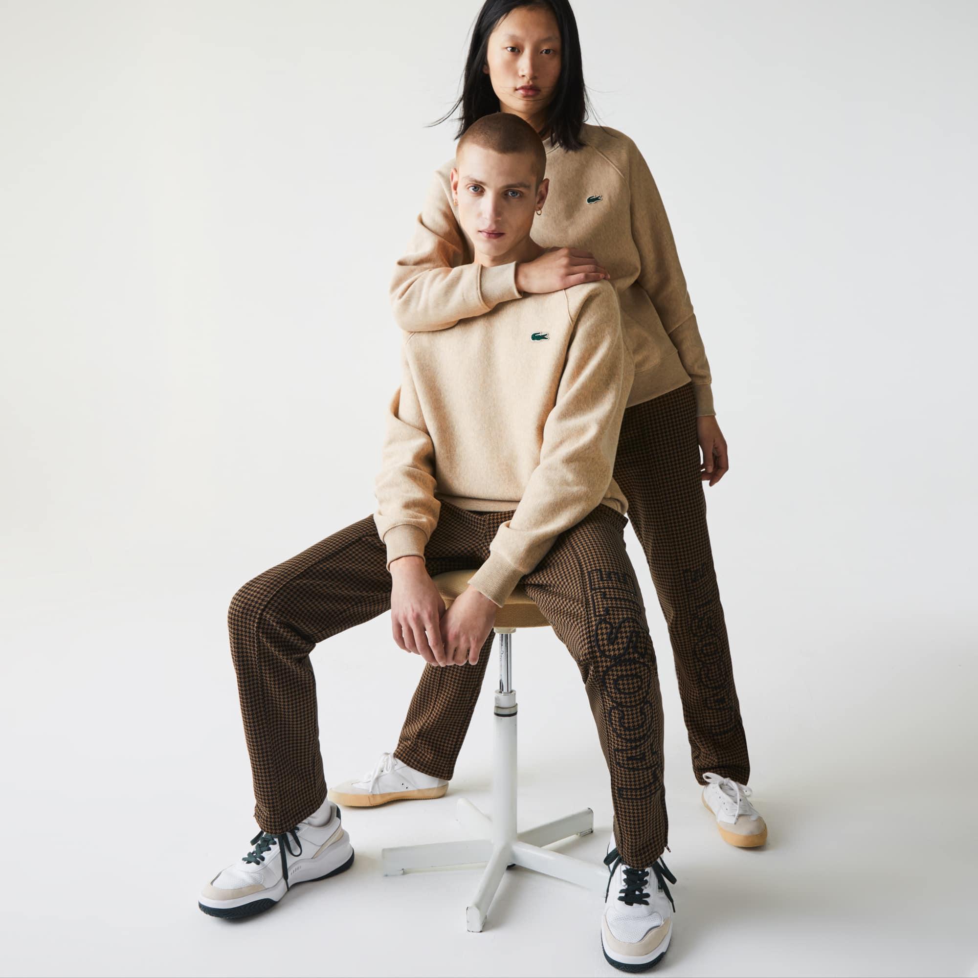Lacoste Unisex LIVE Branded Fleece Sweatshirt
