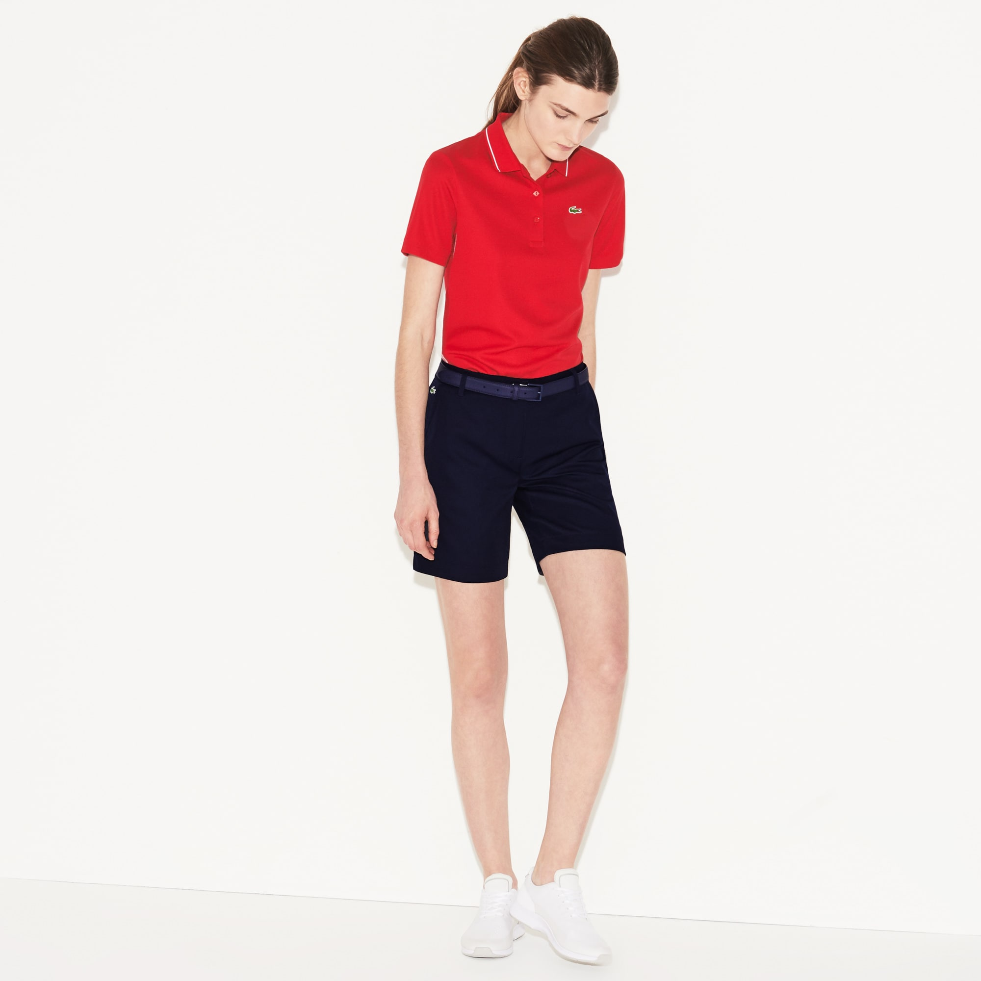 Women's SPORT Technical Gabardine Golf Bermuda Shorts