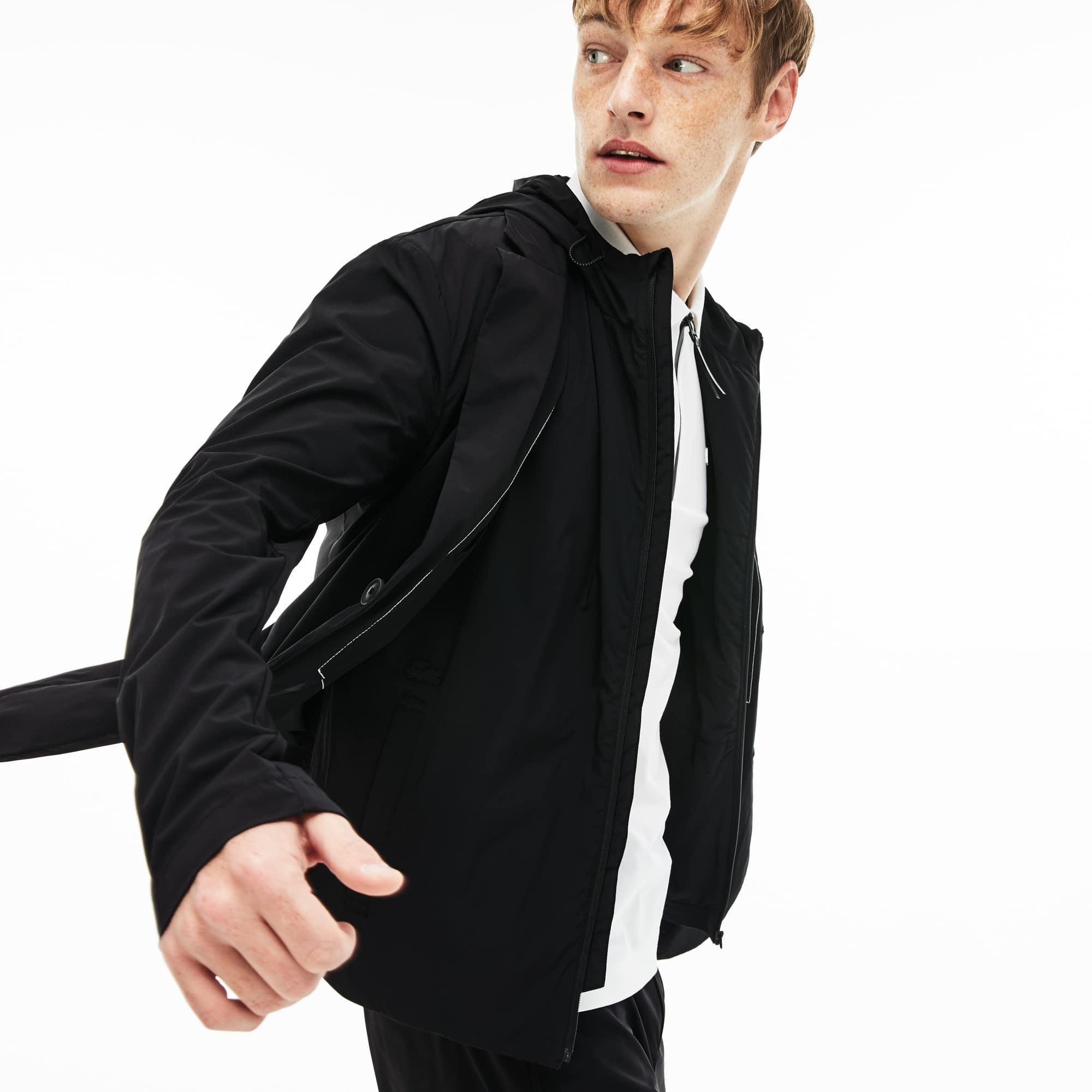 Men's Lacoste Motion Hooded 3 in 1 Water-Resistant Blazer