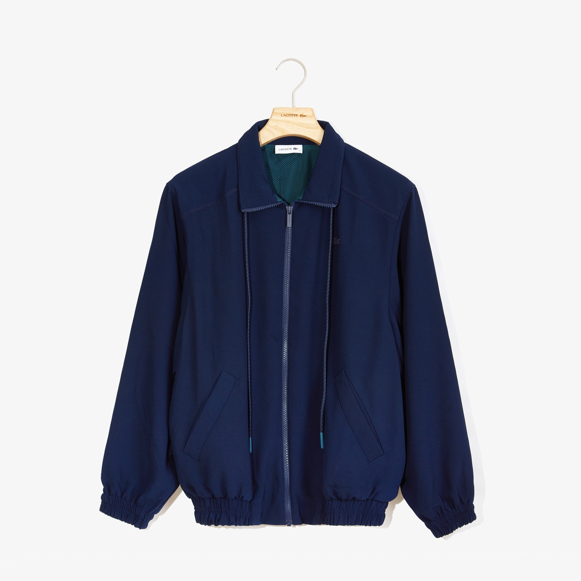 Lacoste Cottons Women's Motion Oversized Twill Zippered Jacket