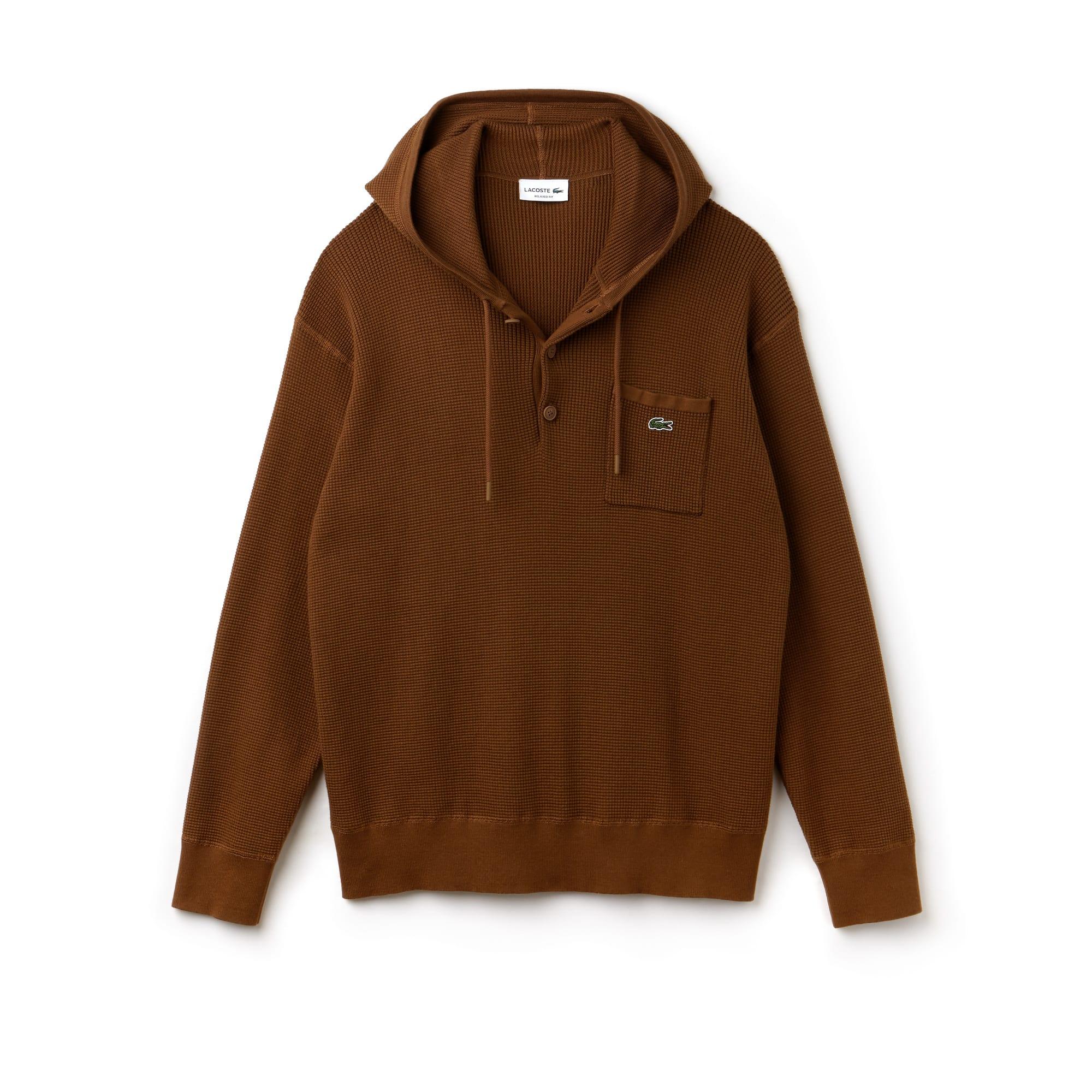 Men's Honeycomb Knit Sweatshirt