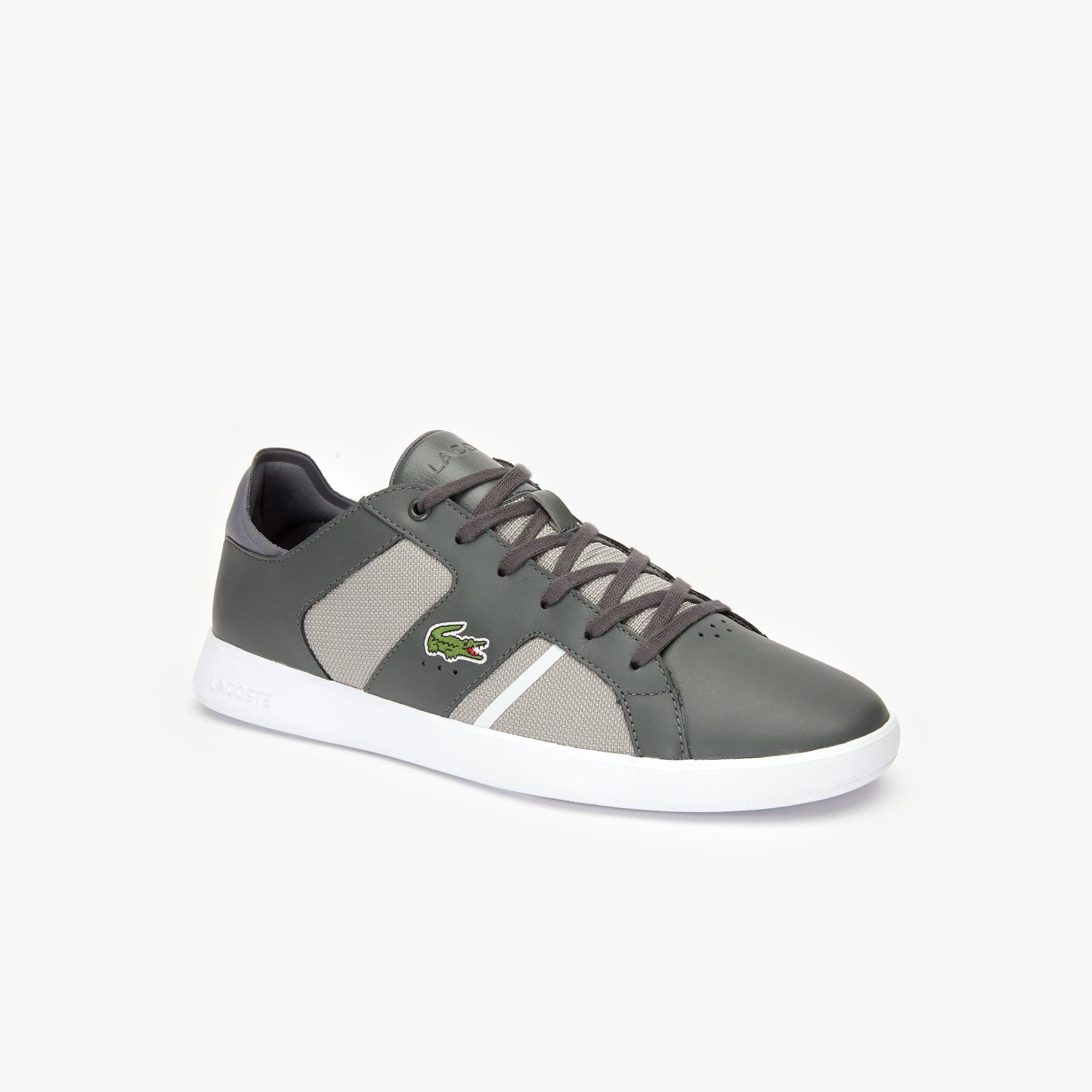 Lacoste Sneakers Men's Novas Leather-Paneled Sneakers
