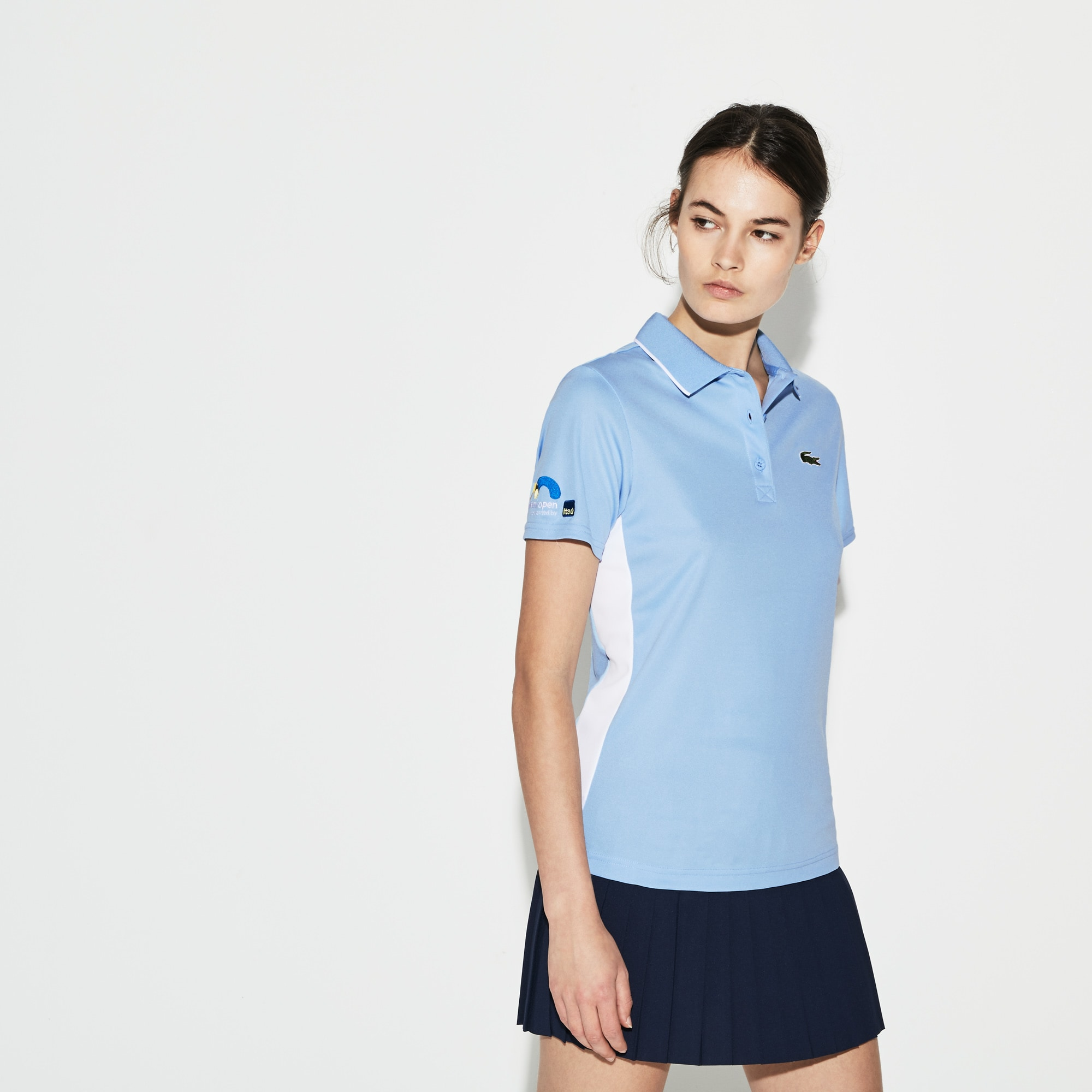 Women's SPORT Miami Open Oversized Croc Piqué Tennis Polo