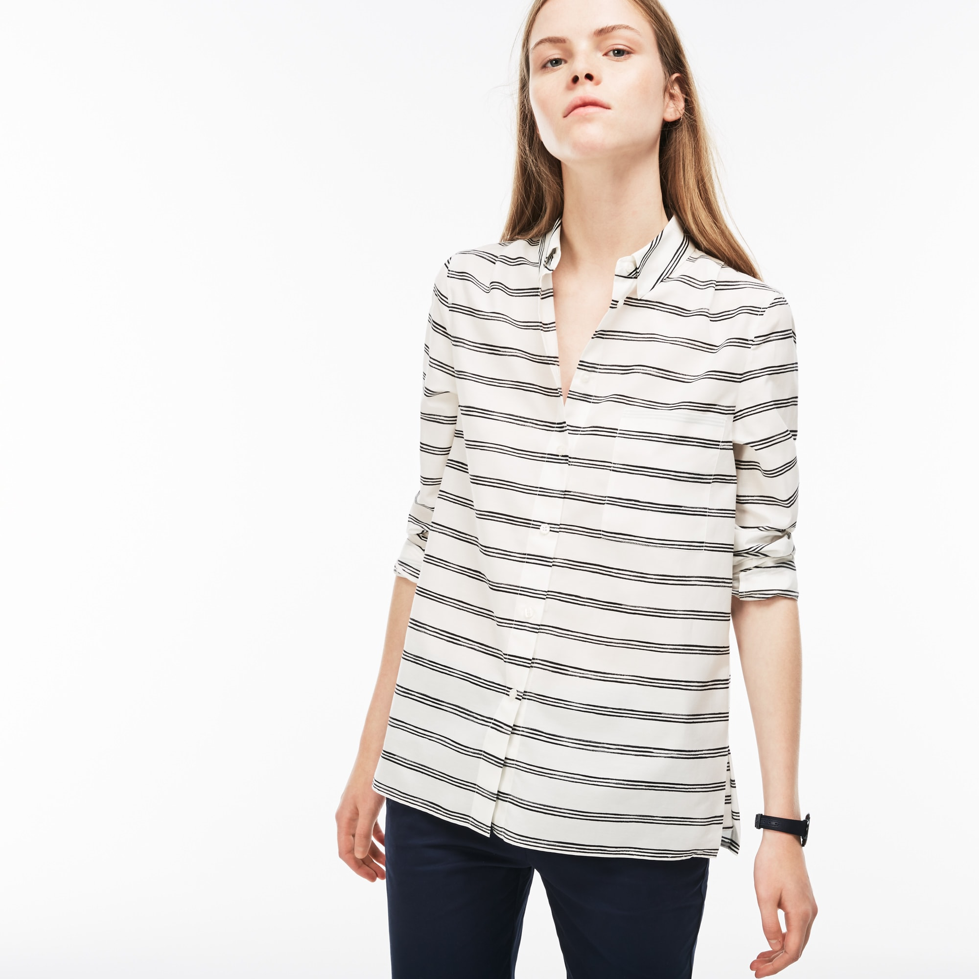 Women's Regular Fit Voile Shirt