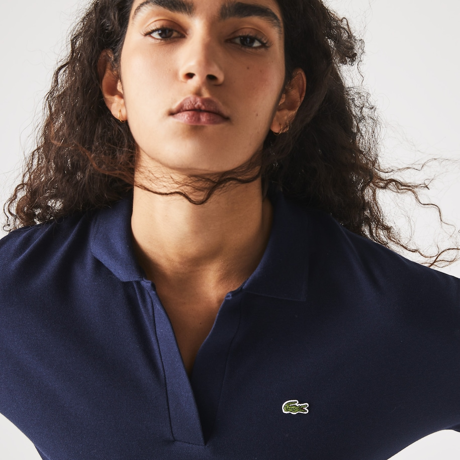 Women's Relaxed Piqué Polo