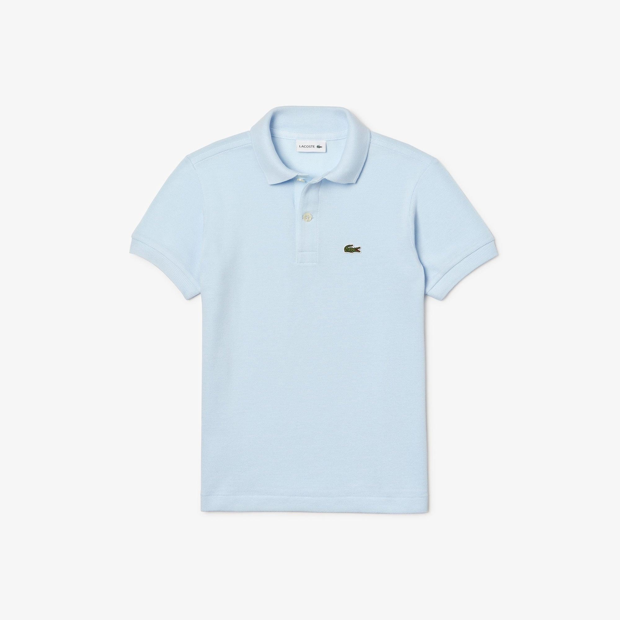 라코스테 보이즈 클래식 피케 폴로셔츠 - 라이트 블루(T01) Lacoste Boys' Classic Pique Polo