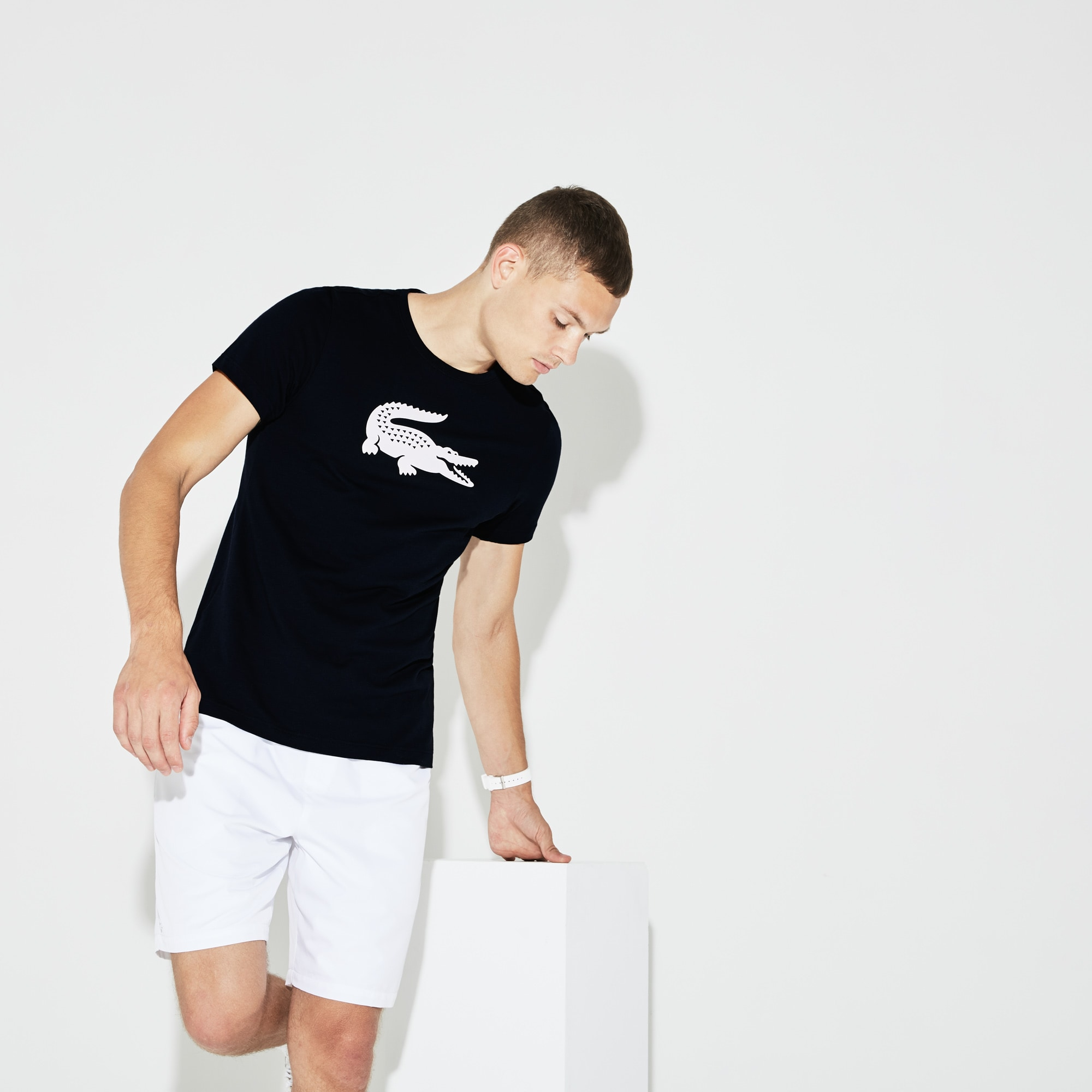Men's SPORT Oversize Croc Tennis T-Shirt