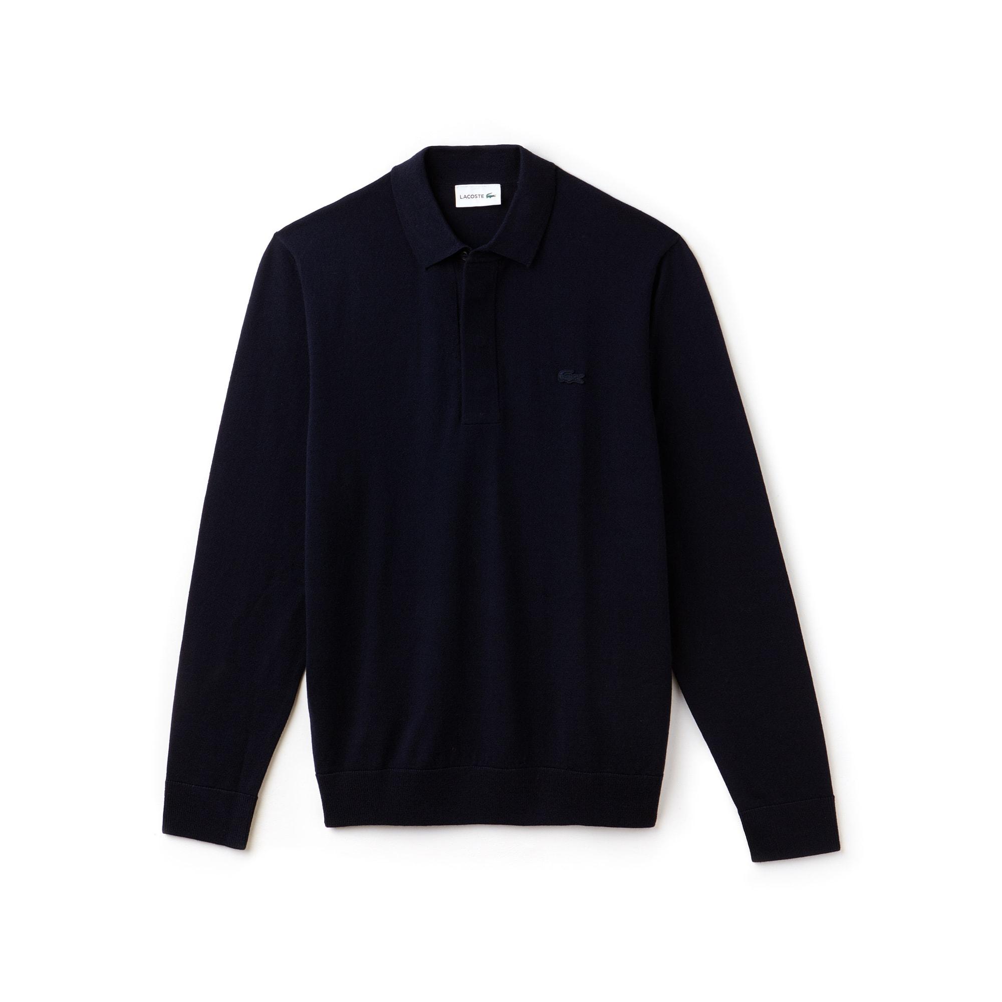 Men's Wool Jersey Sweater