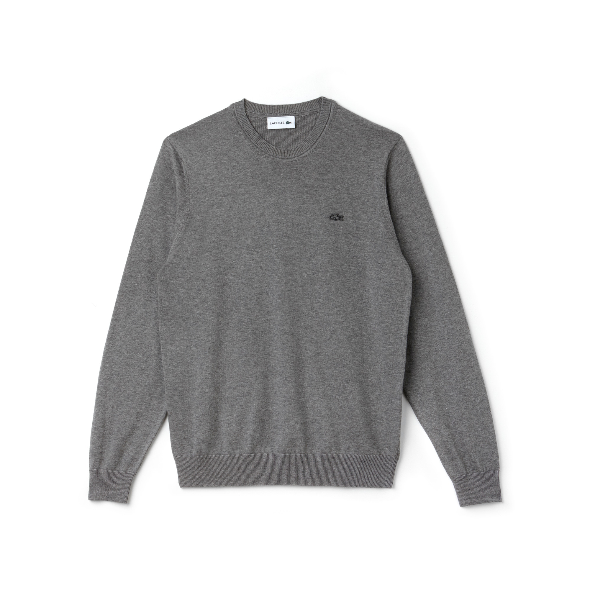 Cotton jersey sweater | LACOSTE