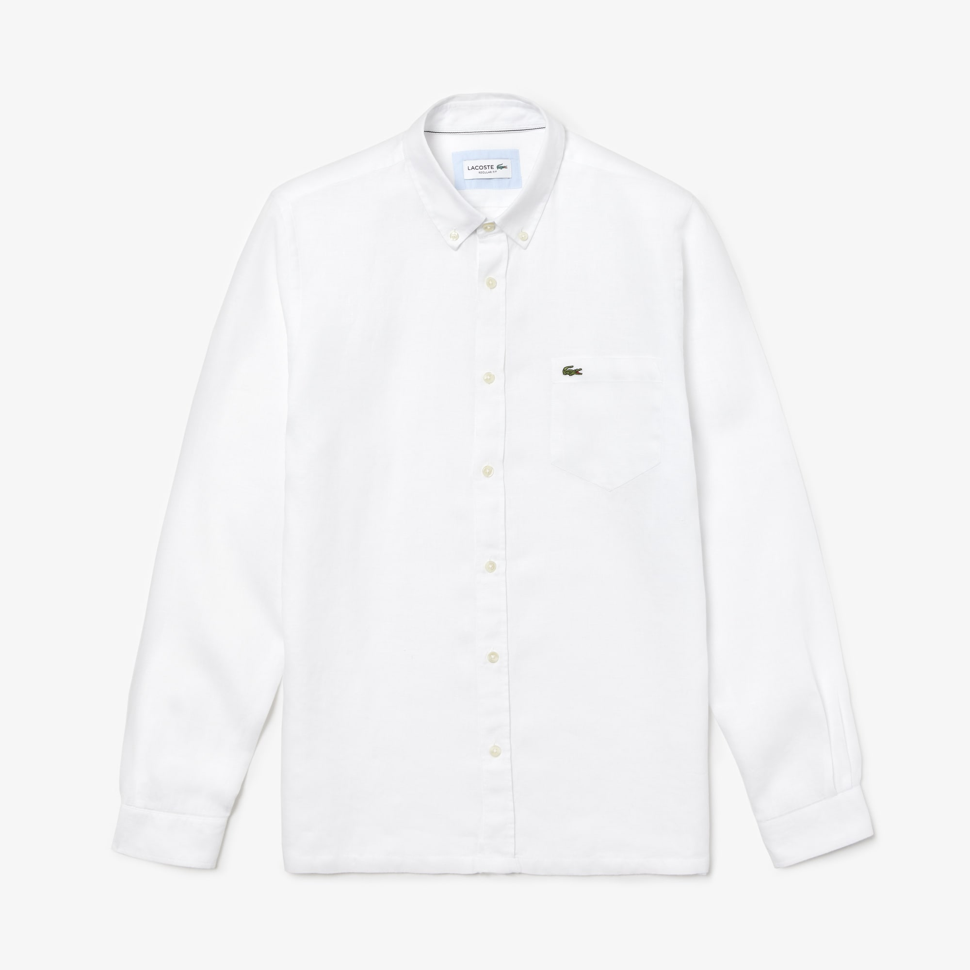 57a6f2da Men's Regular Fit Linen Shirt