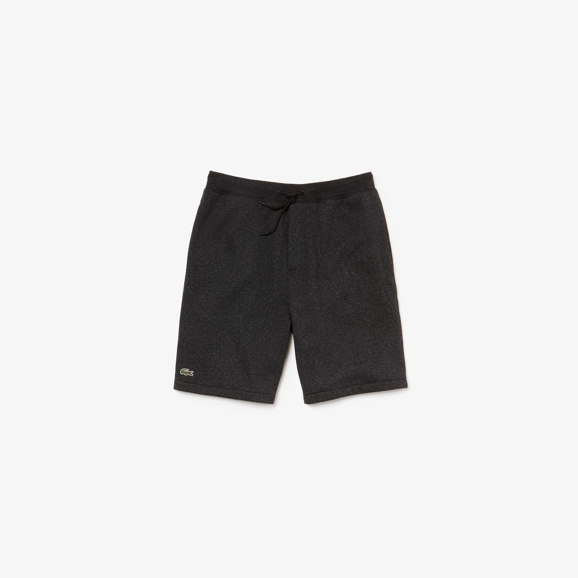 라코스테 스포츠 플리스 반바지 Lacoste Mens SPORT Fleece Shorts,Black / Black