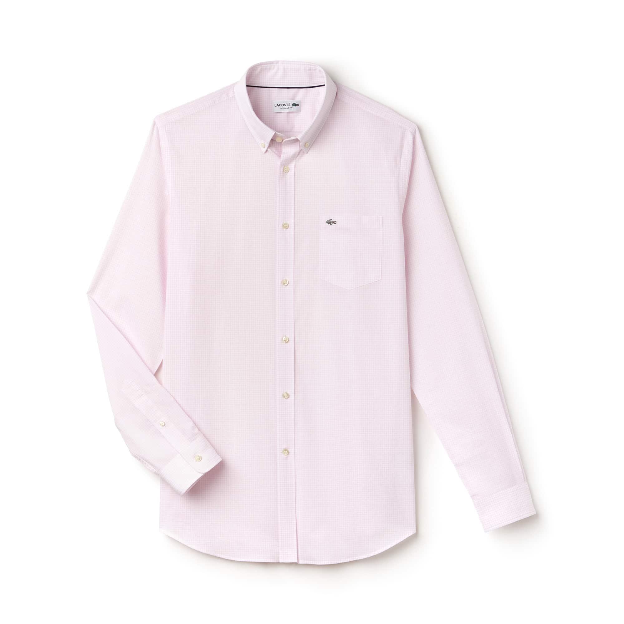 Men's Regular Fit Gingham Shirt