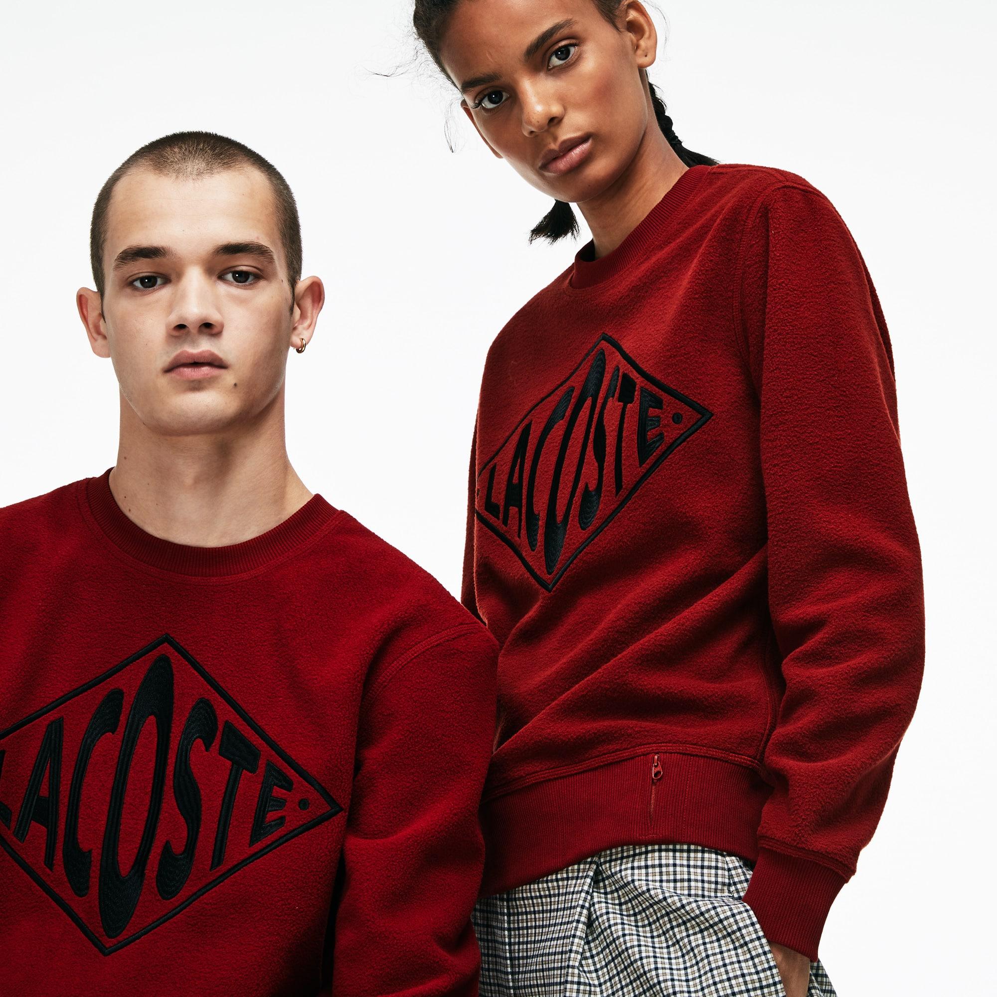 Unisex LIVE Crew Neck XL Embroidery Fleece Sweatshirt