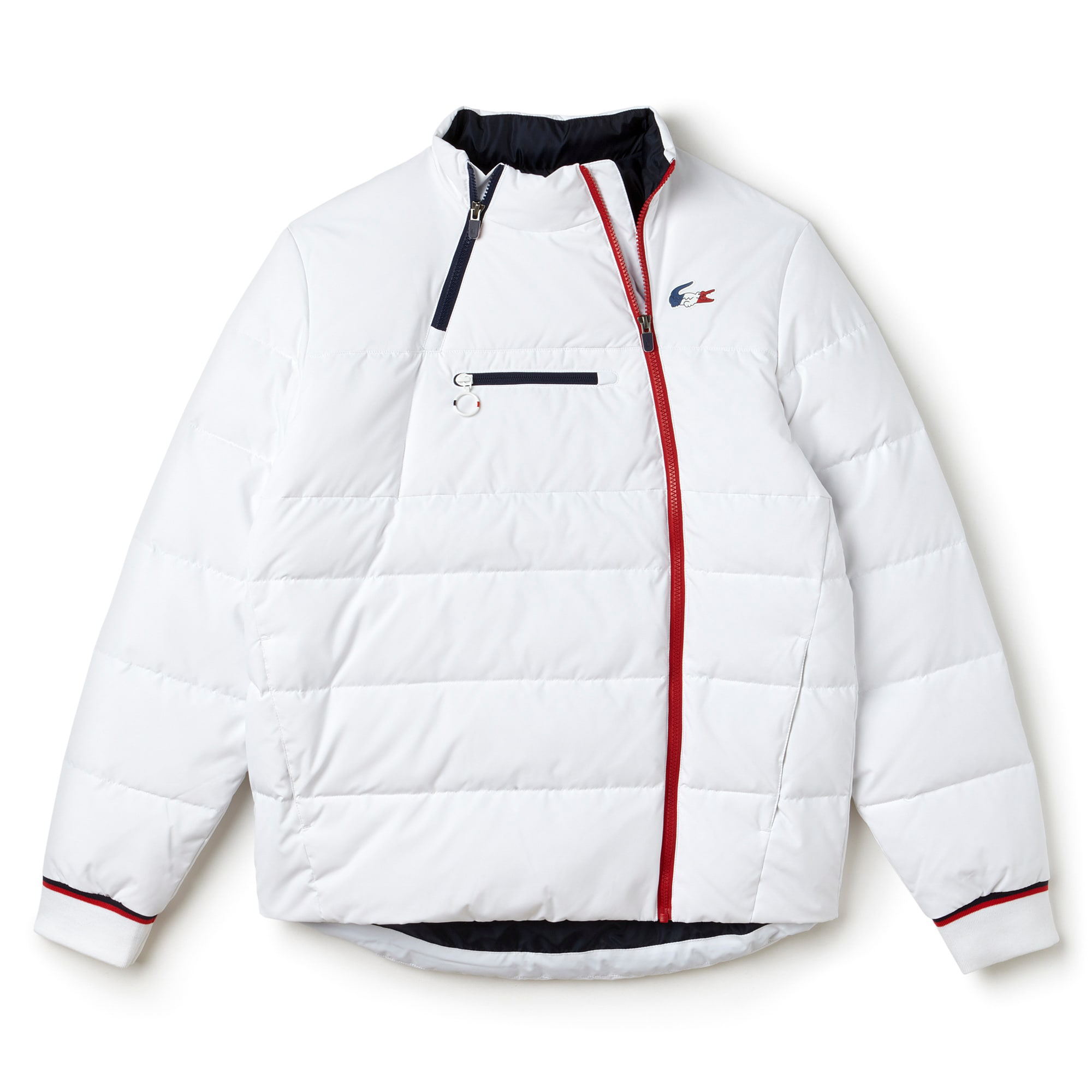 Men's French Sporting Spirit Edition Elasticized Panel Quilted Jacket