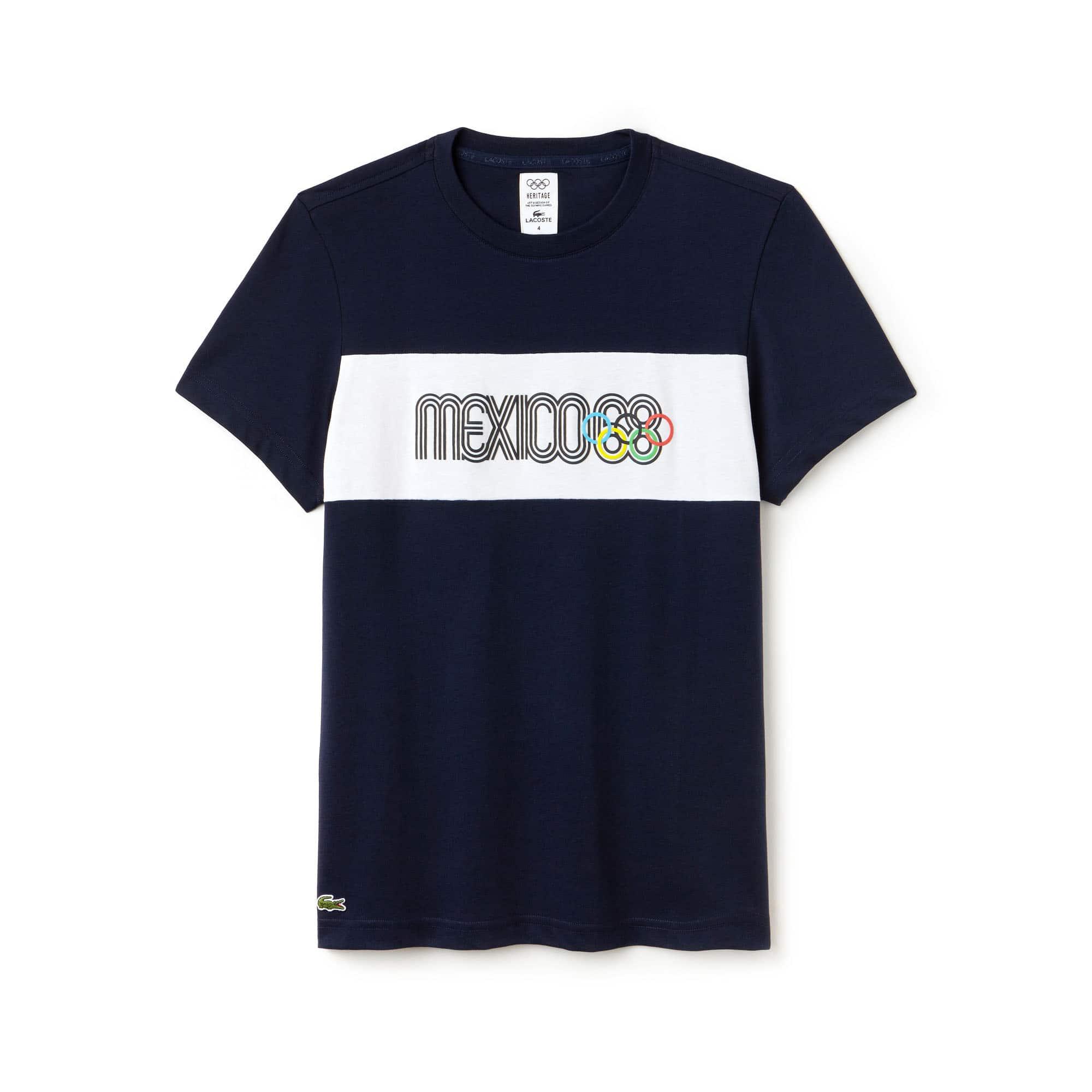 Men's SPORT Mexico Héritage 1968 Technical Cotton T-Shirt