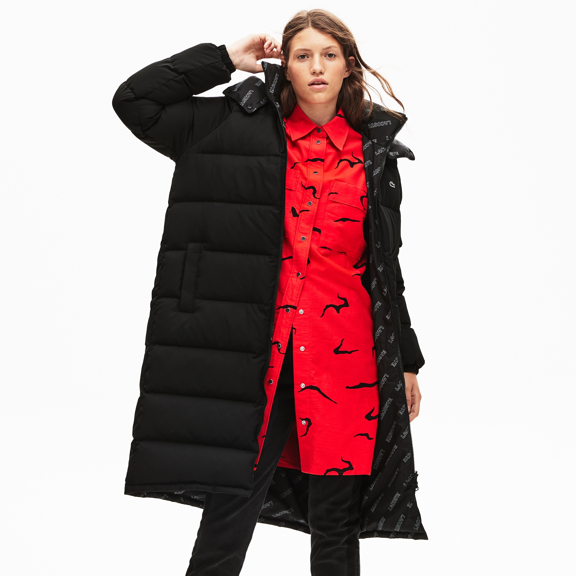 c61980a0 Jackets and Coats | Women's Outerwear | LACOSTE