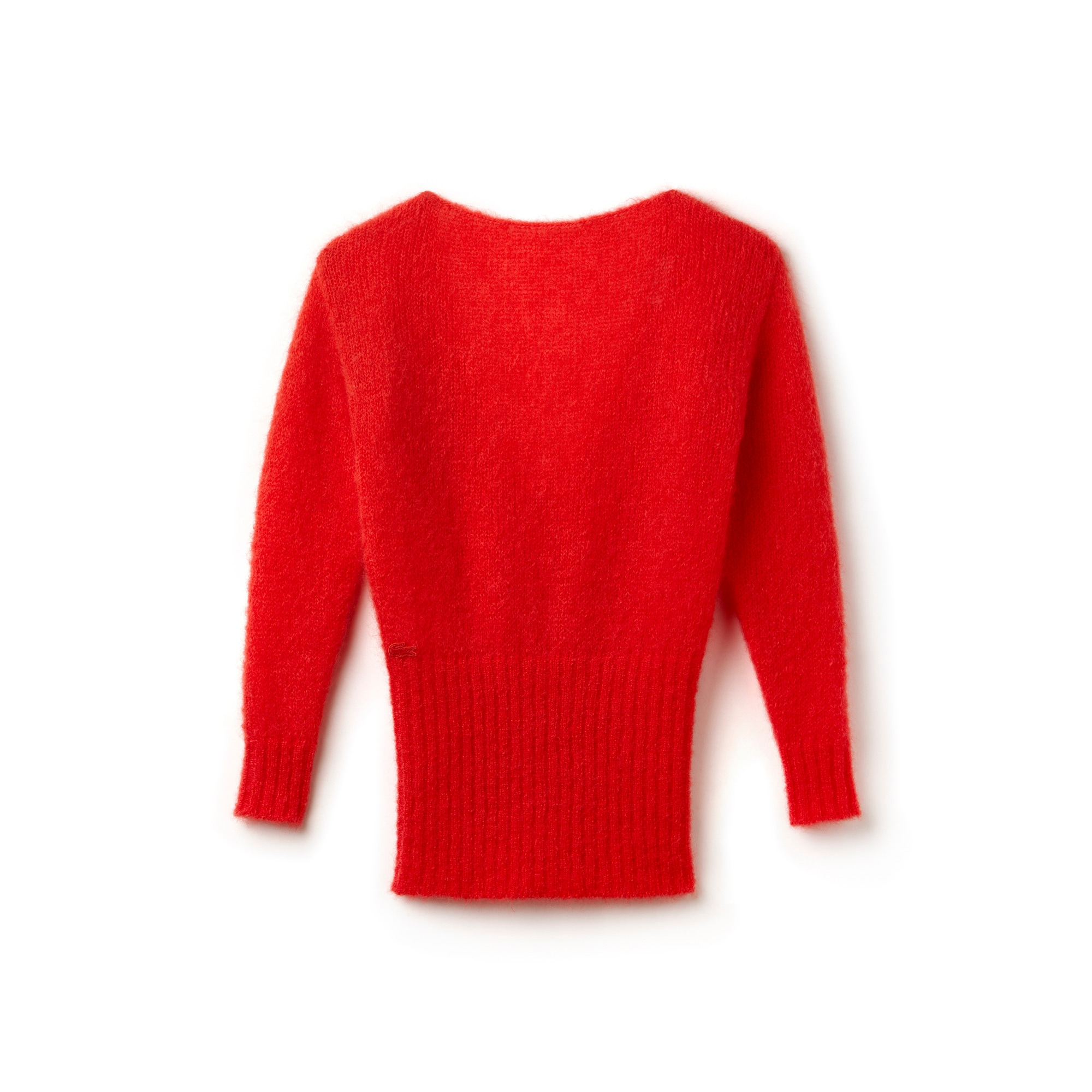 Women's Fashion Show Low Backed Mohair Jersey Sweater