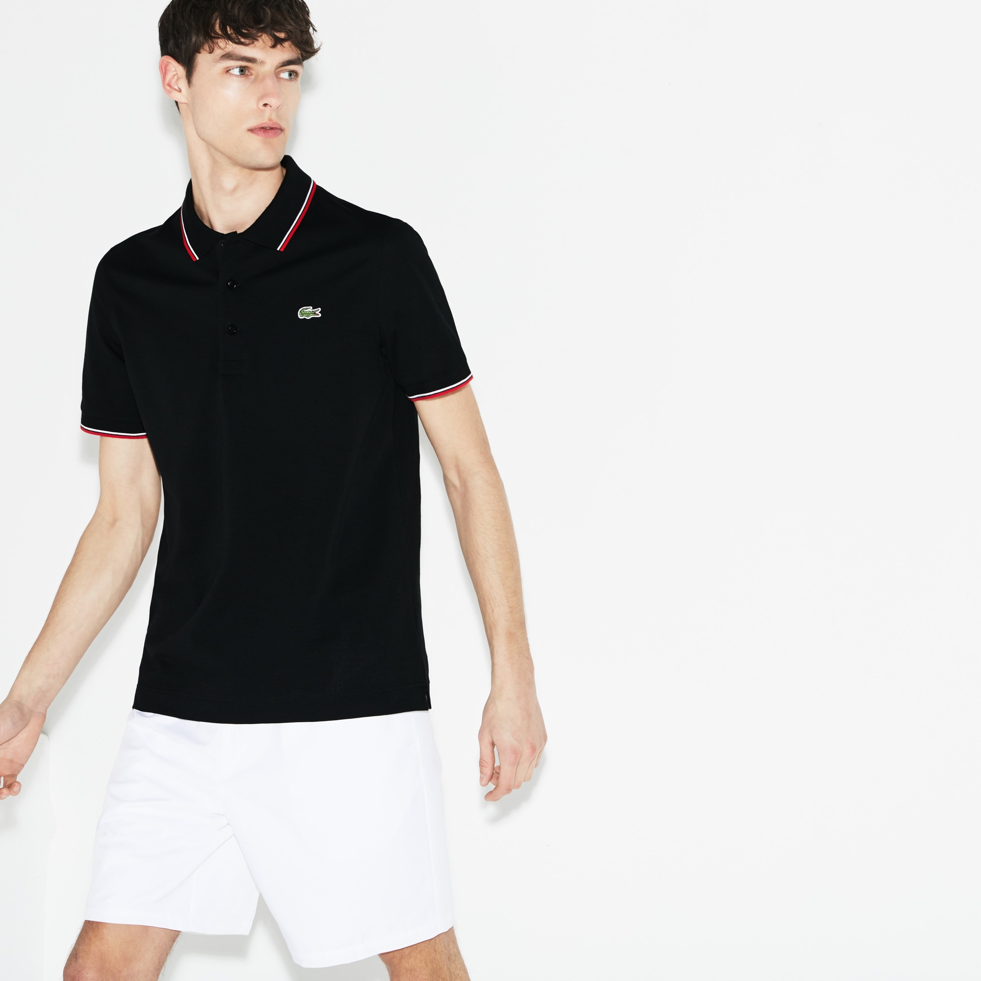 Men's SPORT Ultra-light Knits Polo With Piping