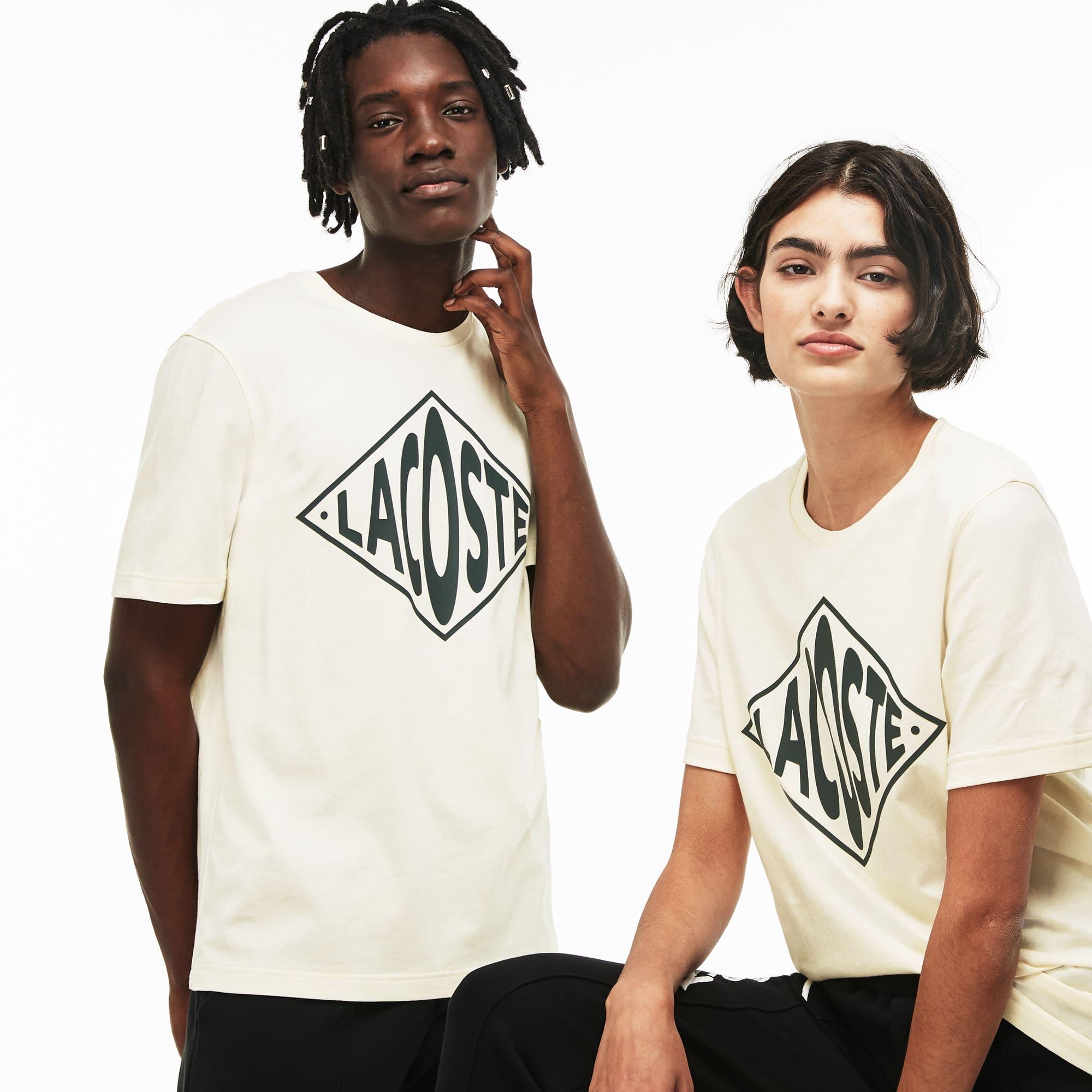 Unisex LIVE Crew Neck Oversized Logo Jersey T-shirt