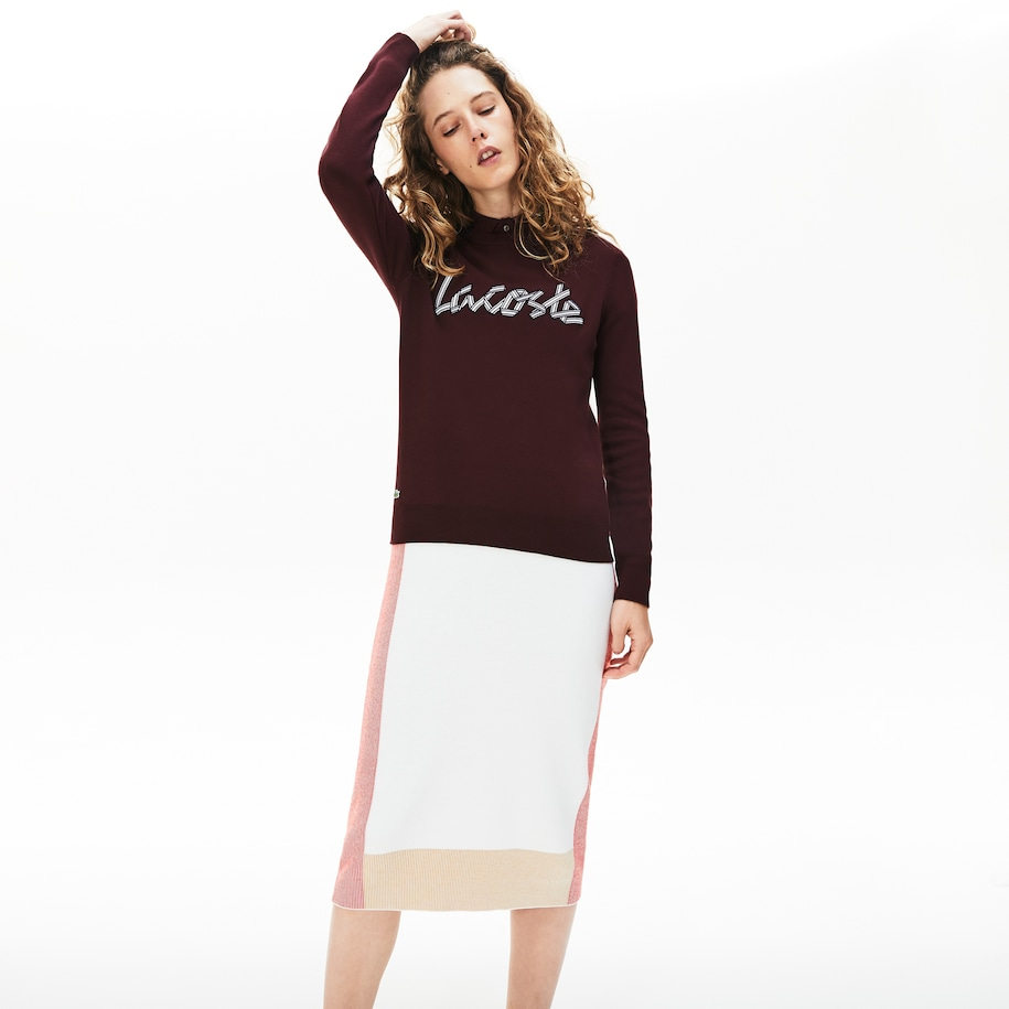 Women's Cotton Crew Neck Sweater