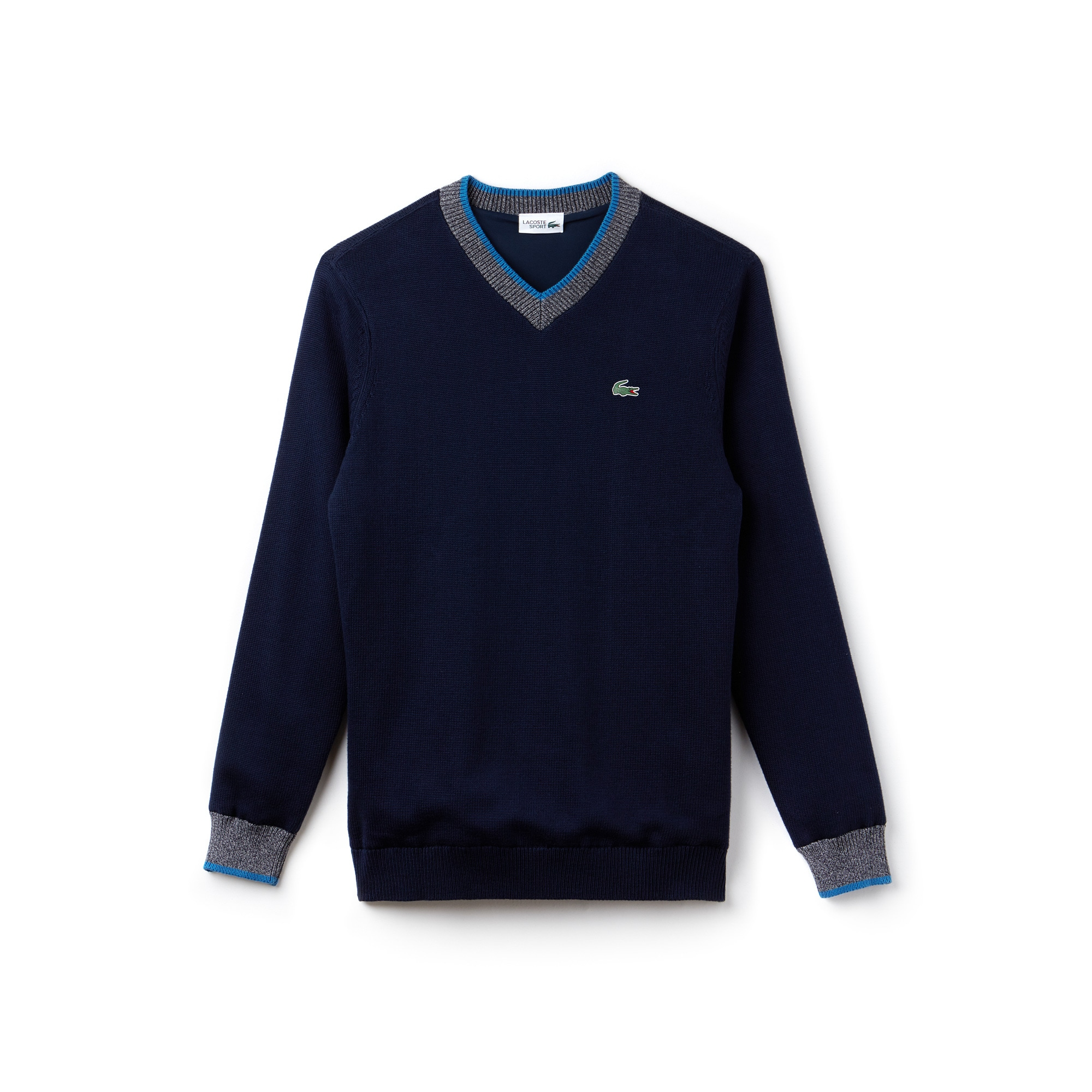 Men's SPORT V-neck Knit Golf Sweater