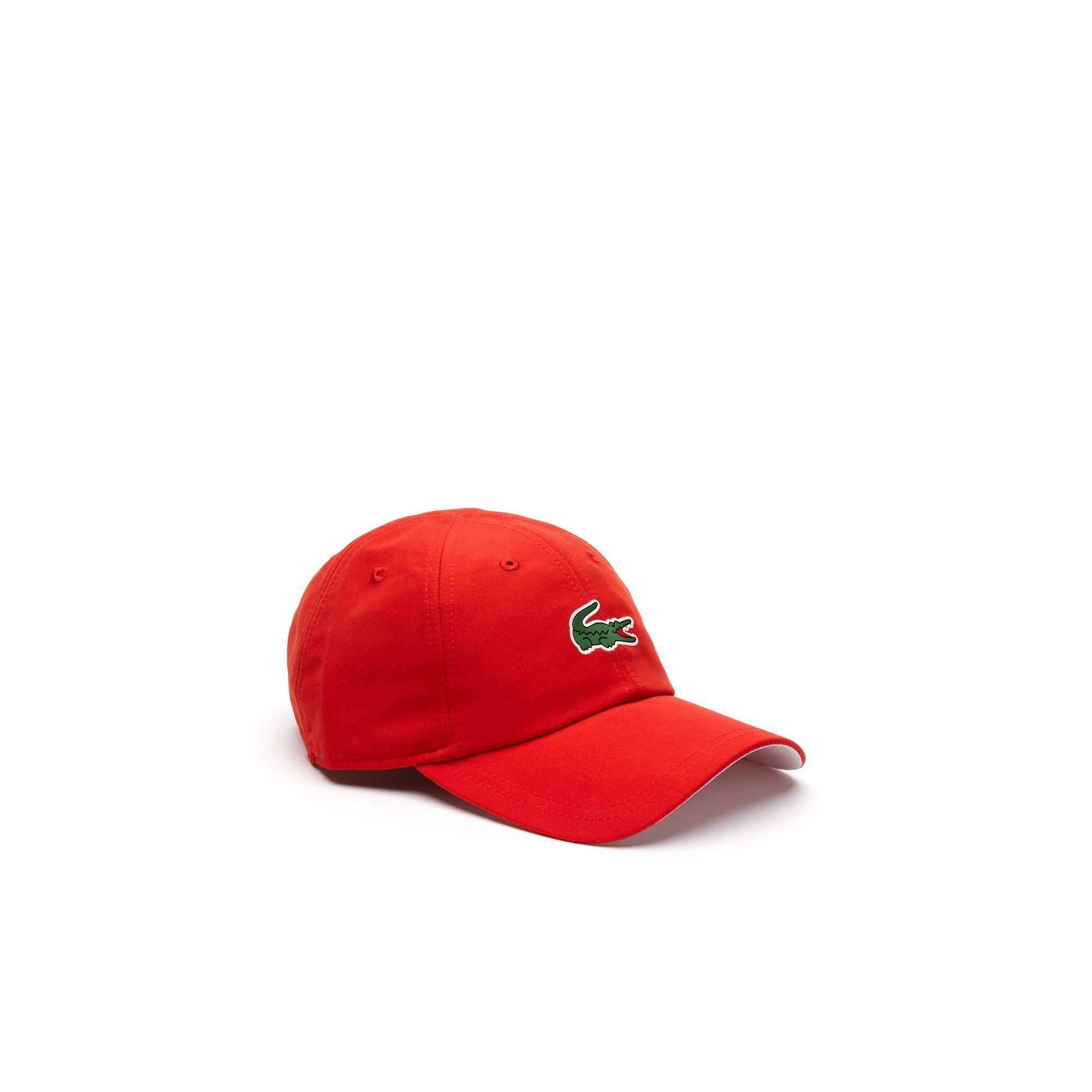 라코스테 Lacoste Mens SPORT Microfiber Cap - x Novak Djokovic On Court Premium Edition,pink / white