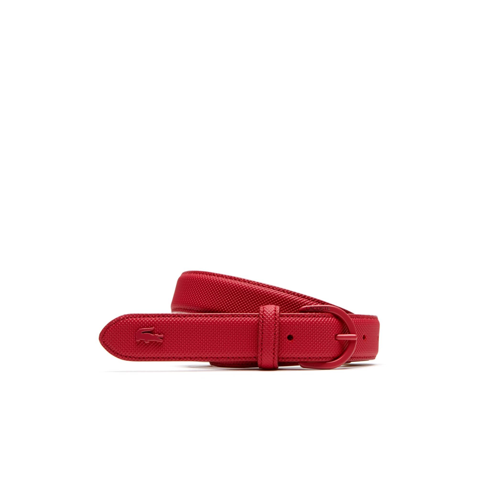 라코스테 Lacoste Womens L.12.12 Concept Monochrome Fine Pique Belt,virtual pink