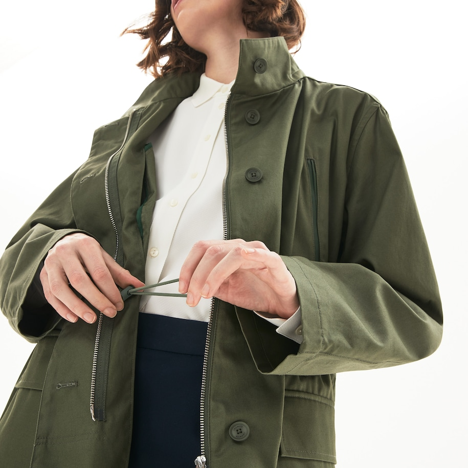 Women's Flared Water-Resistant Parka